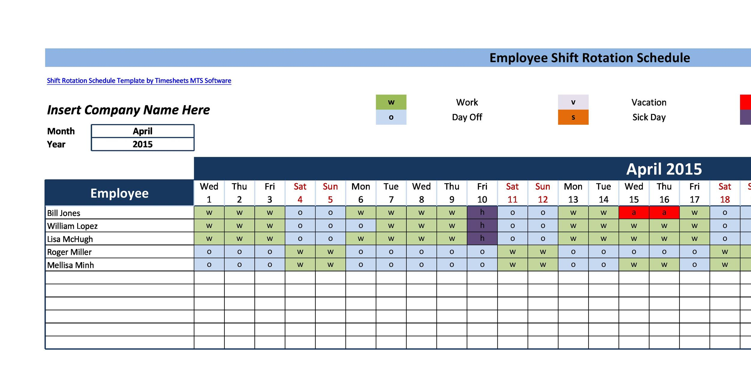 14 Dupont Shift Schedule Templats For Any Company [Free] ᐅ within Shift Yearly Plan