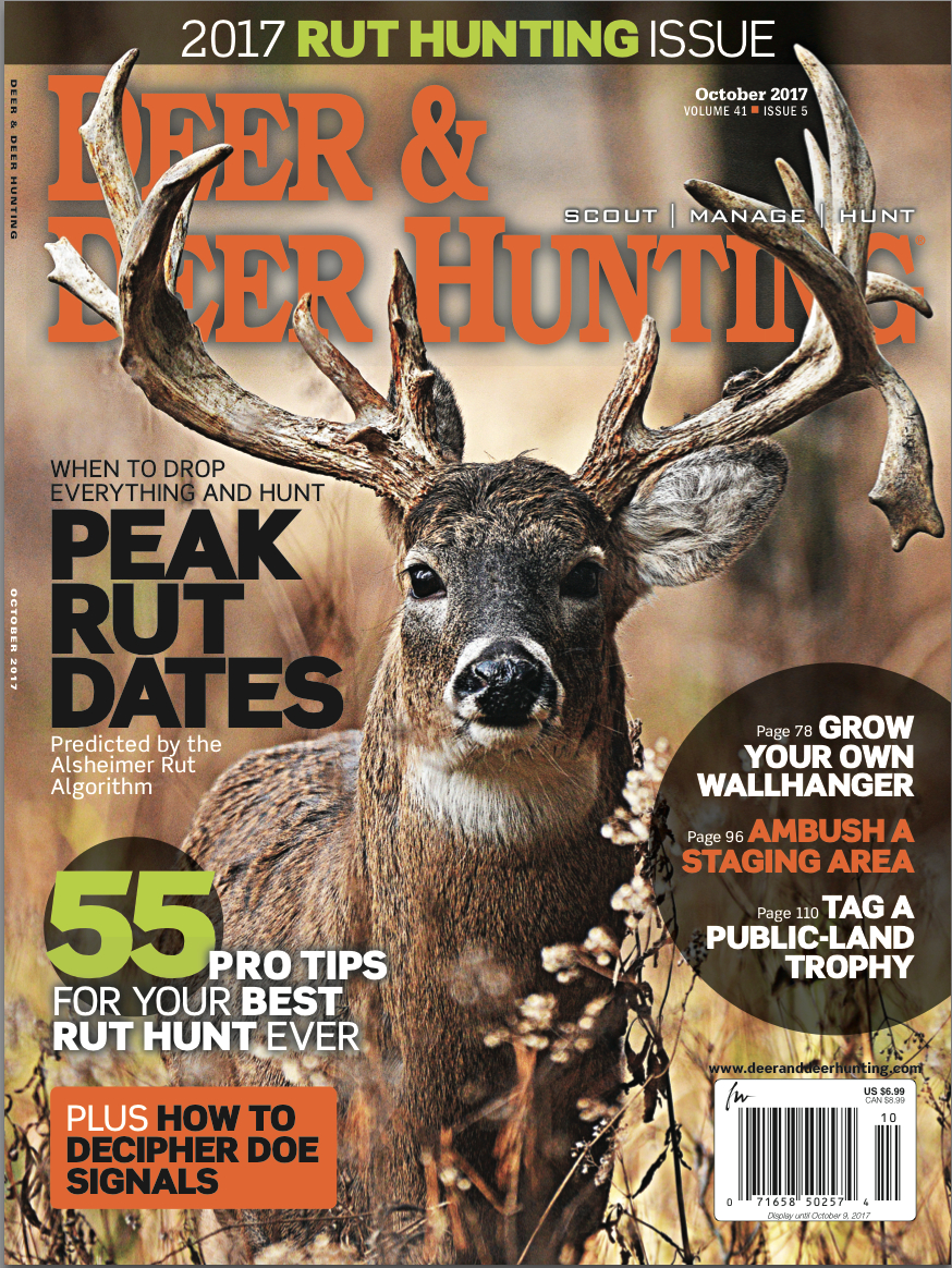 2017 Whitetail Rut Predictions Archives - Deer And Deer Hunting throughout 2021 Whitetail Rut Calendar