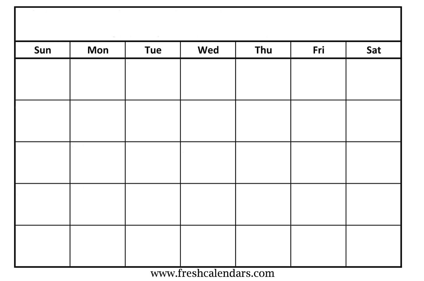2019 Free Printable Calendar Templates - A Mother'S Random regarding Fill In Calendar Printable