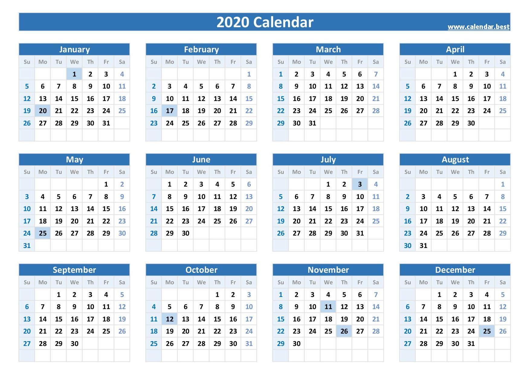 2020, 2021, 2022 Federal Holidays : List And Calendars in Federal Government Calendar 2021 Printable