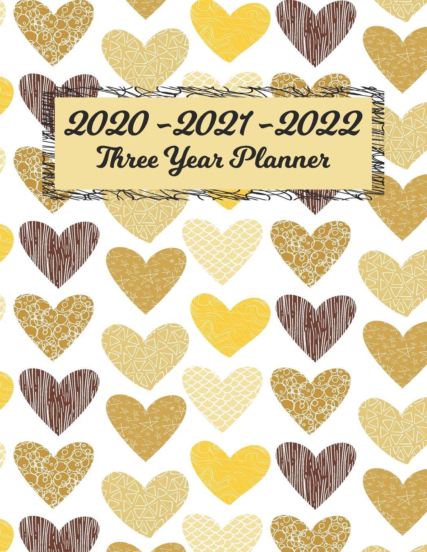 2020 - 2021 - 2022 Three Year Planner: 36 Month Yearly Planner Monthly  Calendar V1 (Paperback) - Walmart regarding 2021-2022 Three Year Planner: 3 Year