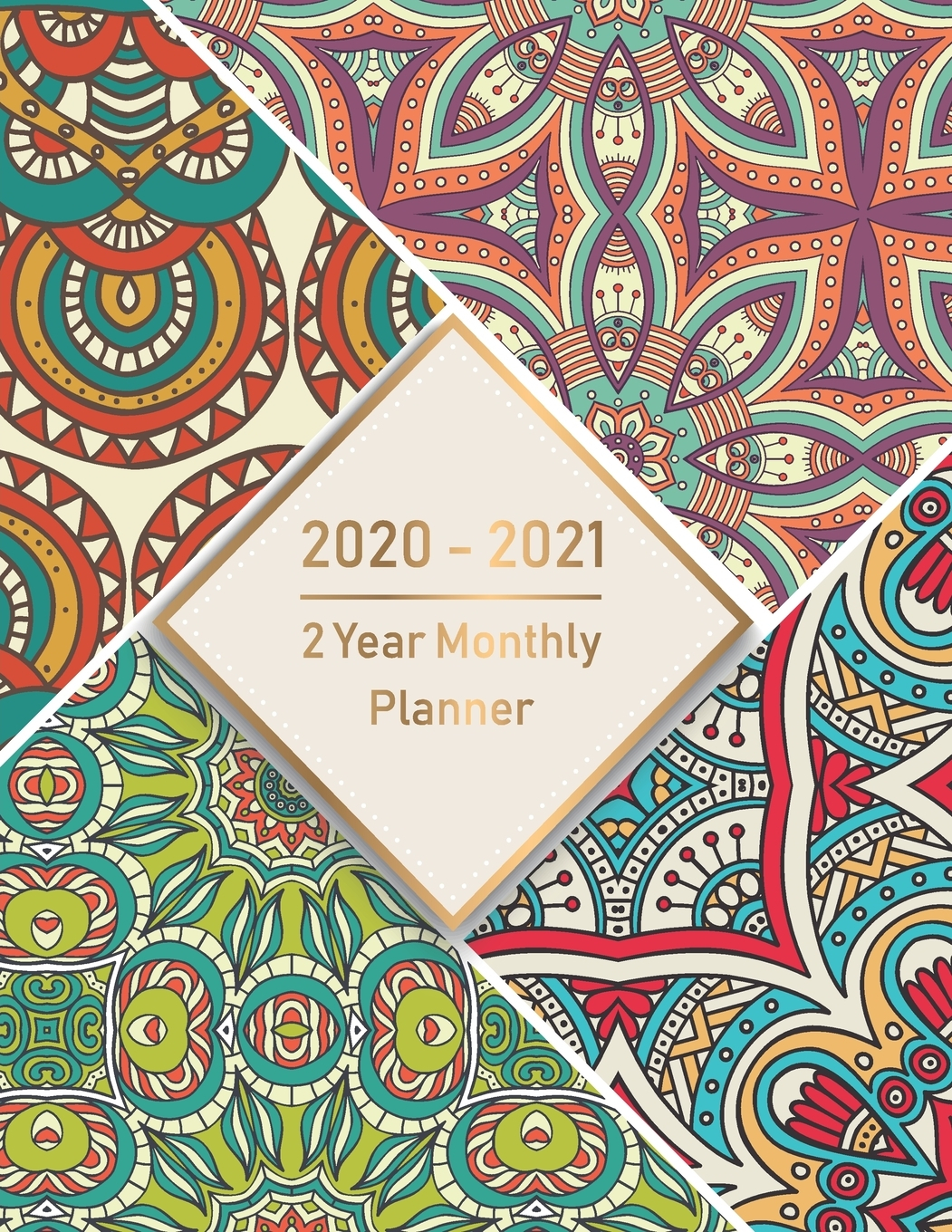 2020-2021 Monthly Planner: 2 Year Monthly Planner 2020-2021: Monthly  Schedule Organizer, Agenda Planner For The Next Two Years, 24 Months  Calendar, throughout 2021-2021: 2-Year Planner 24-Monthly