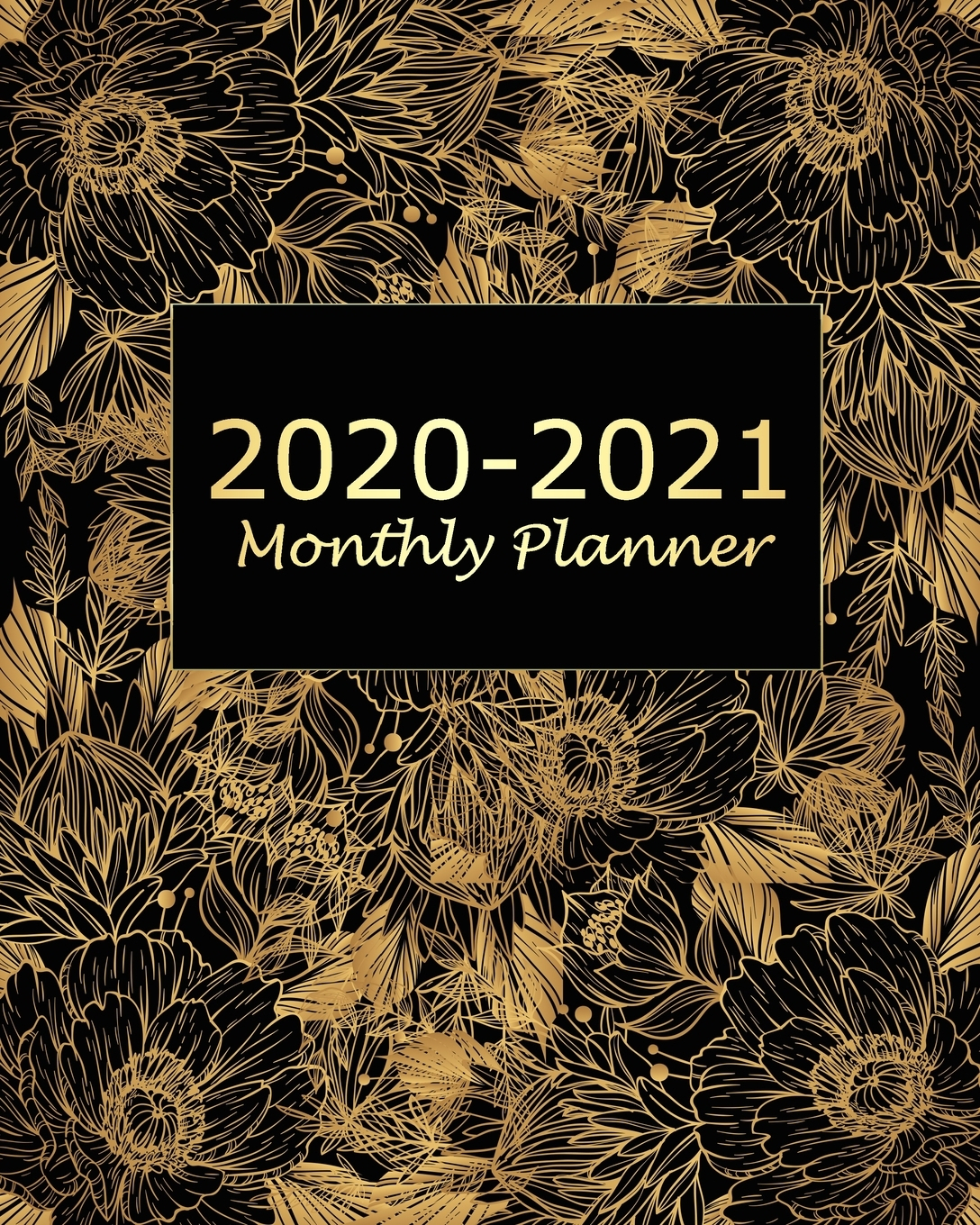 2020-2021 Monthly Planner : Yellow Floral 2 Year Monthly Planner Calendar  Schedule Organizer January 2020 To December 2021 (24 Months) With Holidays with regard to 2021-2021 2 Year Planner Llama Monthly