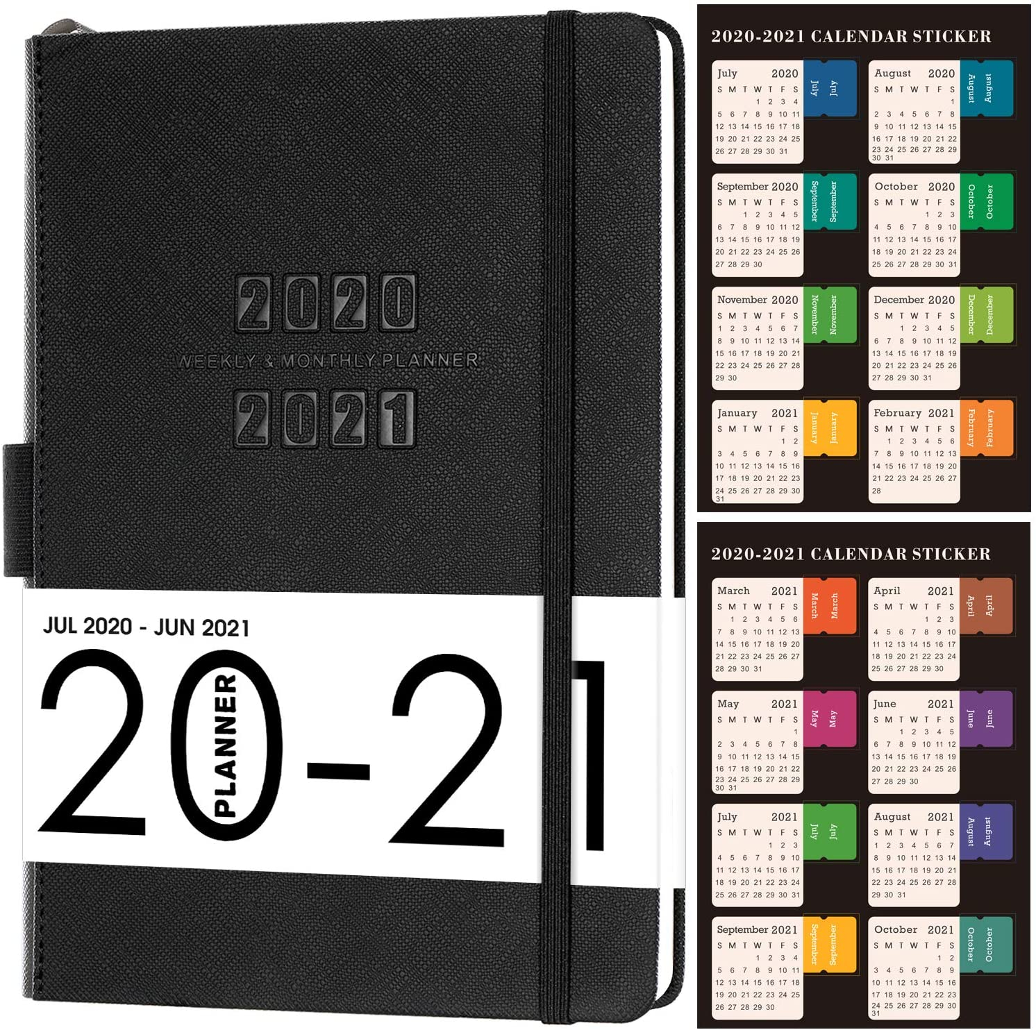 2020-2021 Planner-Academic Weekly And Monthly Planner, 5.75 with Academic Diary August 2021 To August