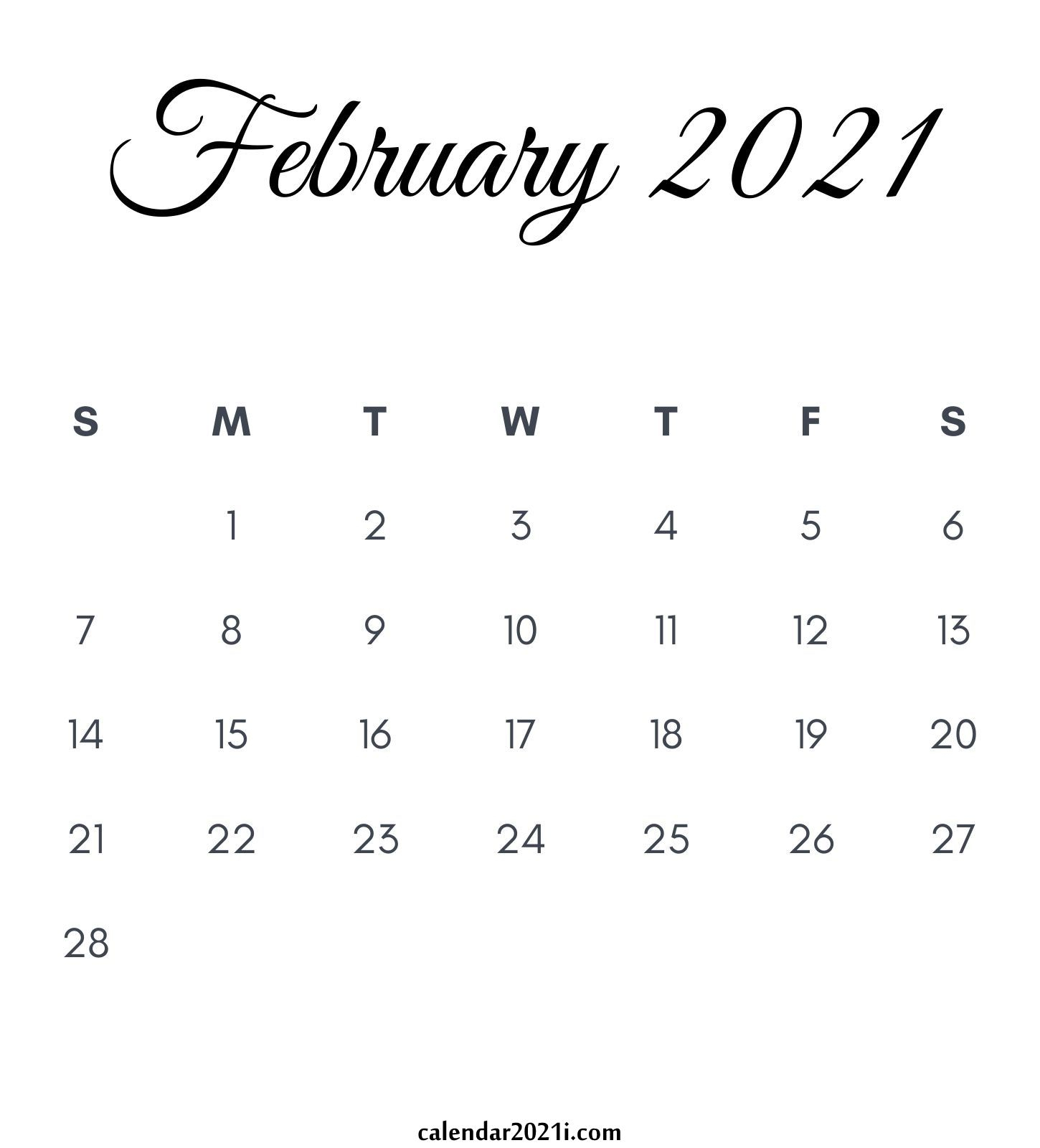 2021 Calendar Monthly Printable | Calendar 2021 intended for 2021-2021 Monthly Planner: 2 Years