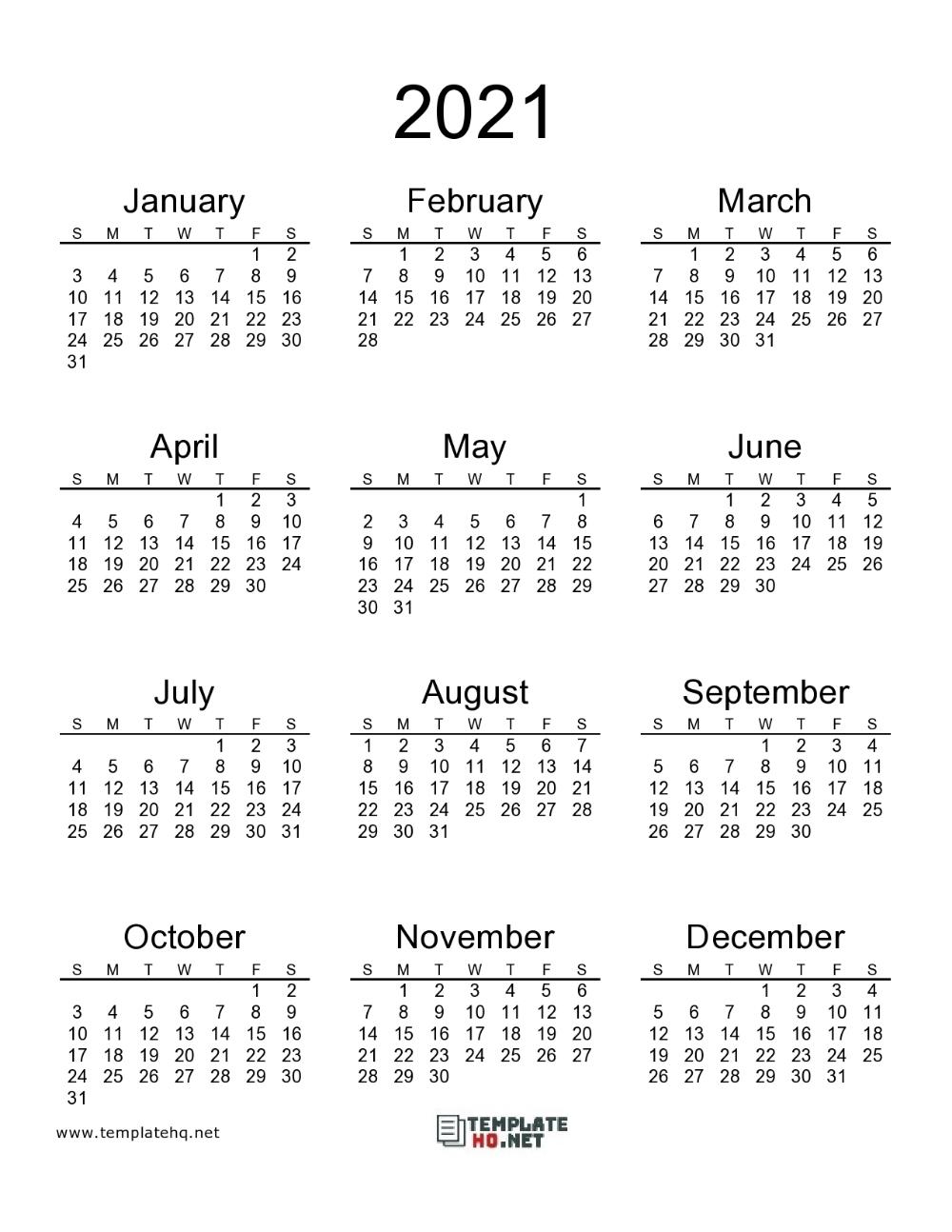 2021 Calendar Printable 00 In 2020 | Calendar Printables for Calendar 2021 Aramco