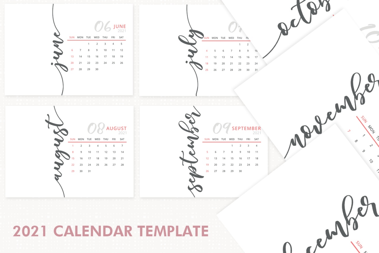 2021 Calendar Template, Desk Calendar, 2021 Printable throughout Fillable Calendar Templates 2021
