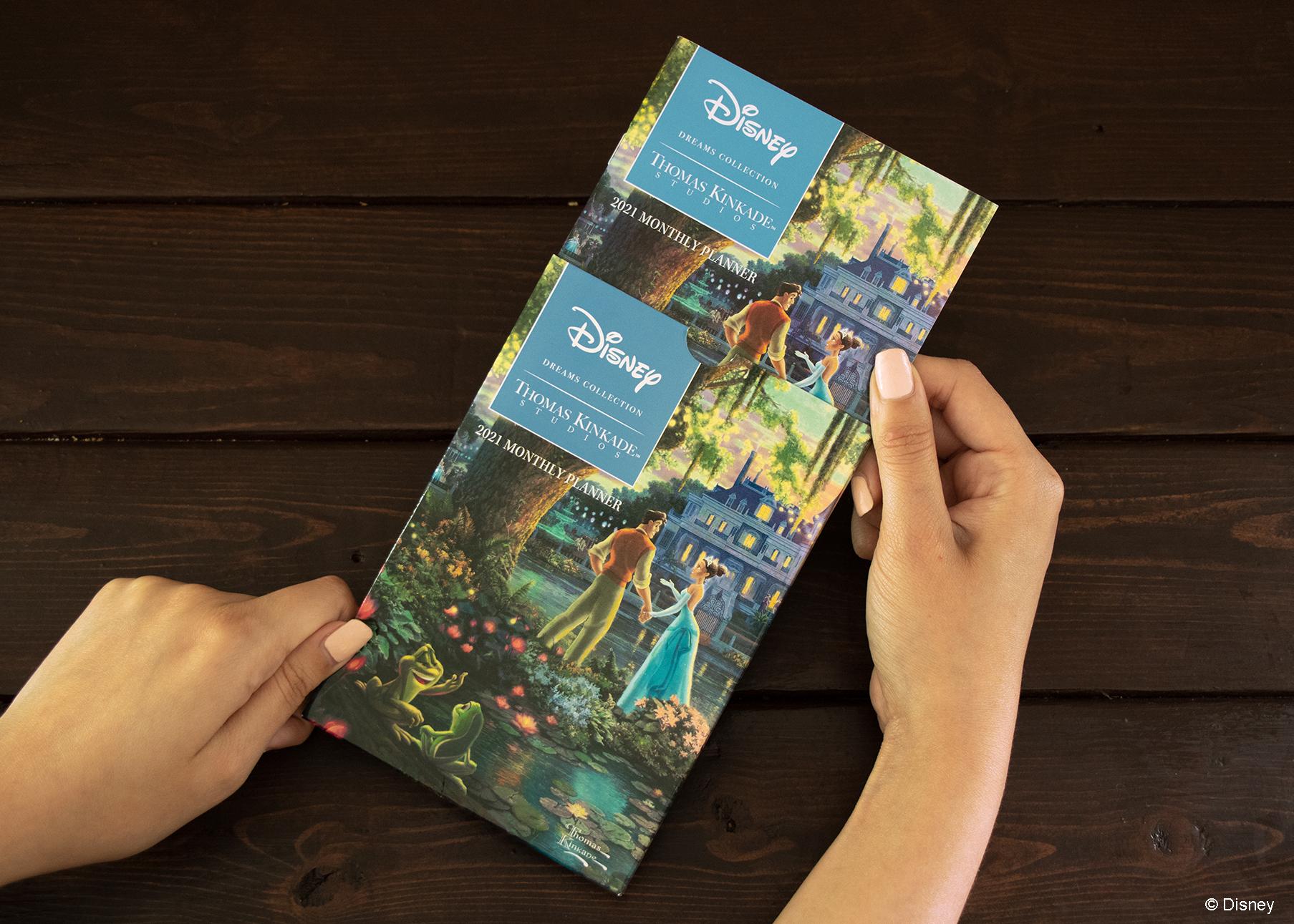 2021 Disney Dreams Collectionthomas Kinkade Studios pertaining to Free Hallmark Pocket Calendars