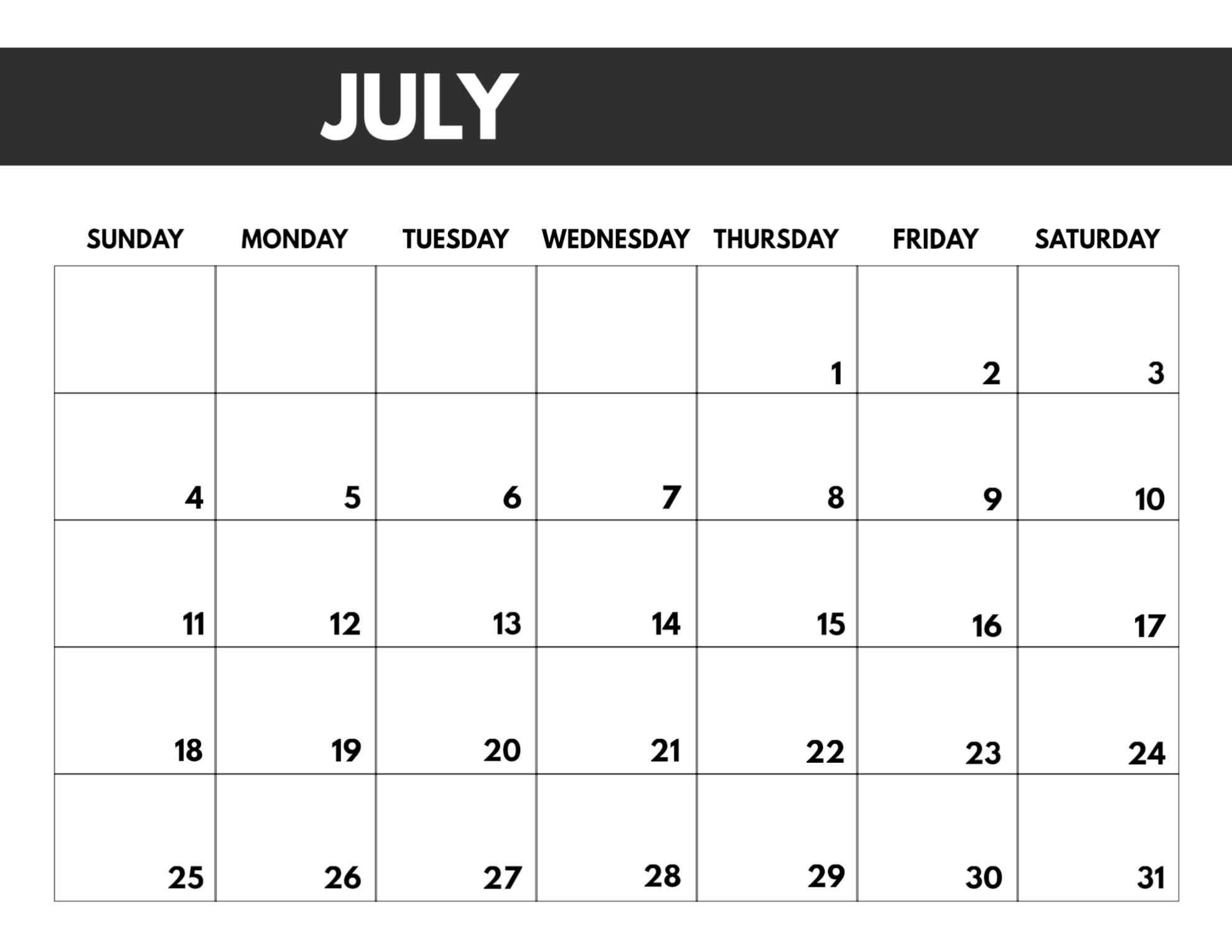 2021 Free Monthly Calendar Templates | Paper Trail Design regarding 8.5 X 11 Printable Calendars