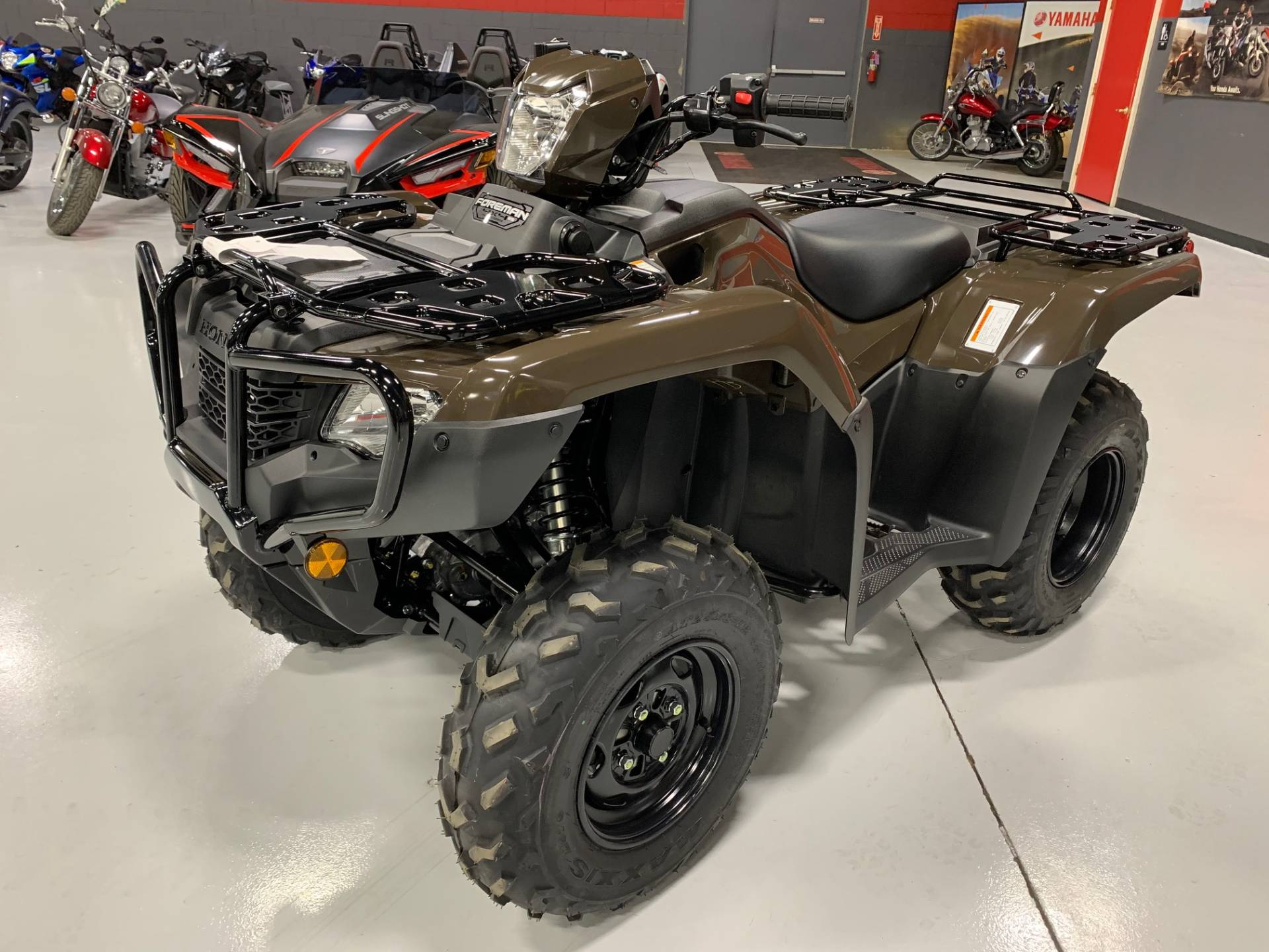 2021 Honda Fourtrax Foreman 4X4 Es Eps In Brilliant, Ohio in Ohio 2021 Rut