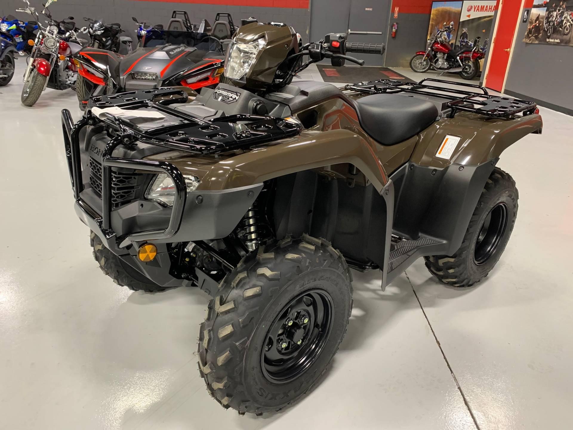 2021 Honda Fourtrax Foreman 4X4 Es Eps In Brilliant, Ohio inside Ohio Rut 2021