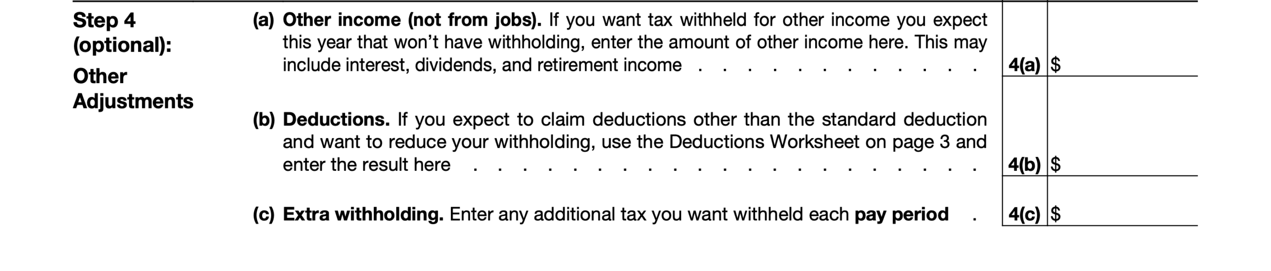 2021 Irs Form W-4: Simple Instructions + Pdf Download intended for 2021 W-4 Form Printable