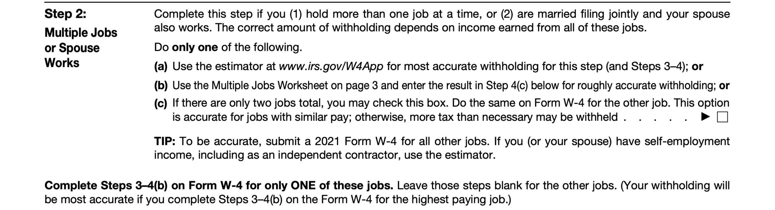 2021 Irs Form W-4: Simple Instructions + Pdf Download with regard to Form W-4 2021
