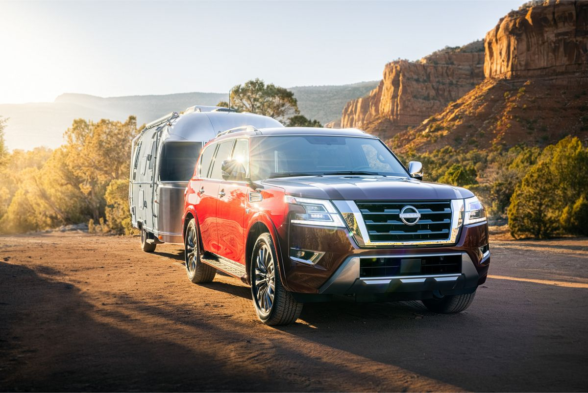 2021 Nissan Armada Gets A Modern Makeover in Rut Prediction 2021
