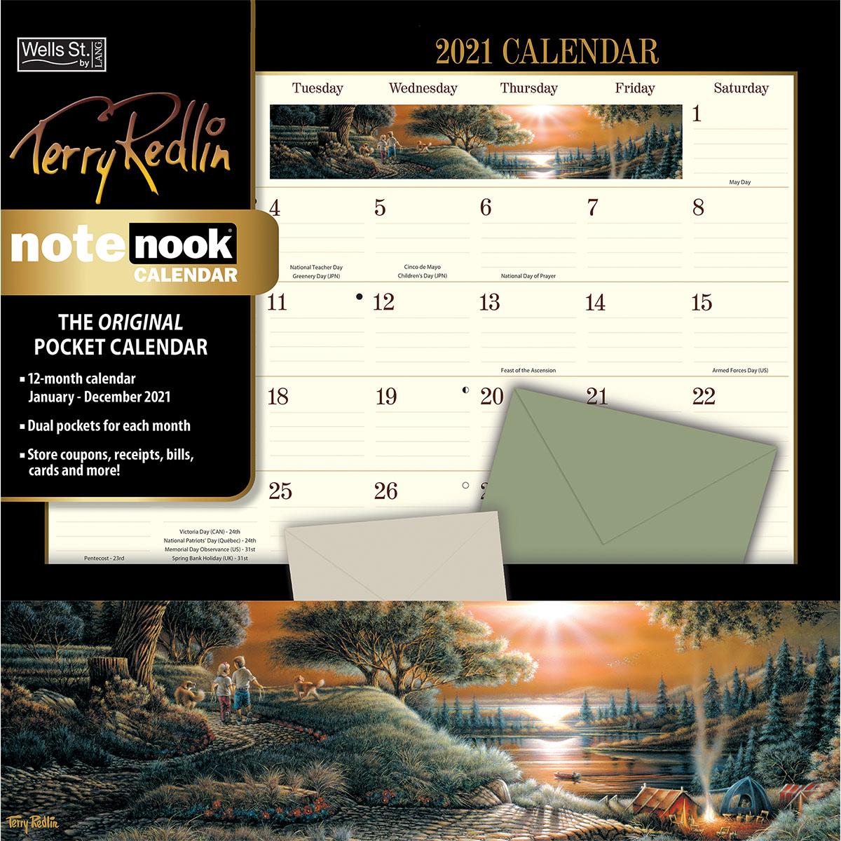 2021 Note Nook Wsbl Calendar regarding Pocket Calendars 2021