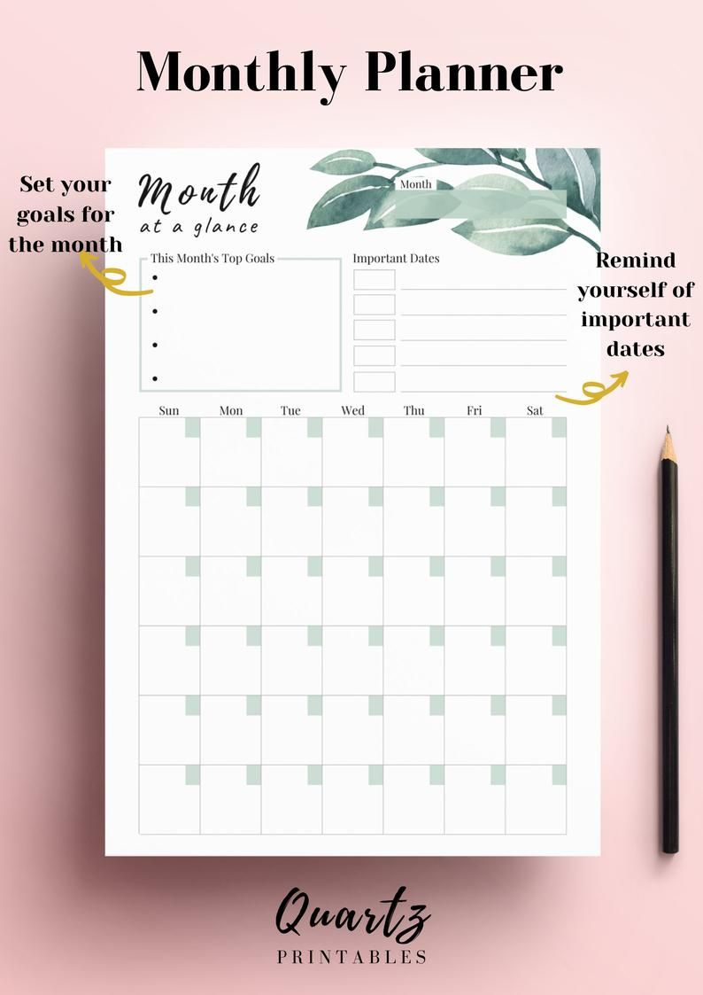 2021 Planner, Monthly Planner With Scheduling Calendar in 2021 Planner: Weekly Calendar Planner