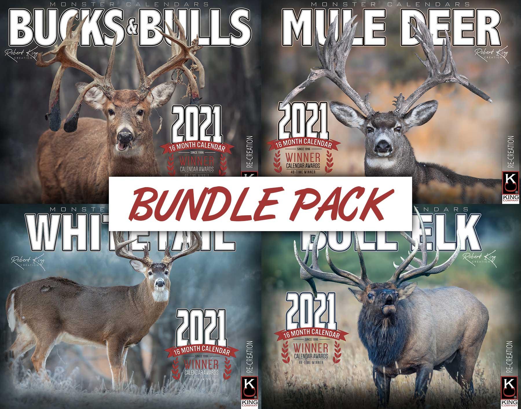 2021 Signature Bundle Pack throughout Deer Hunting Calendar 2021