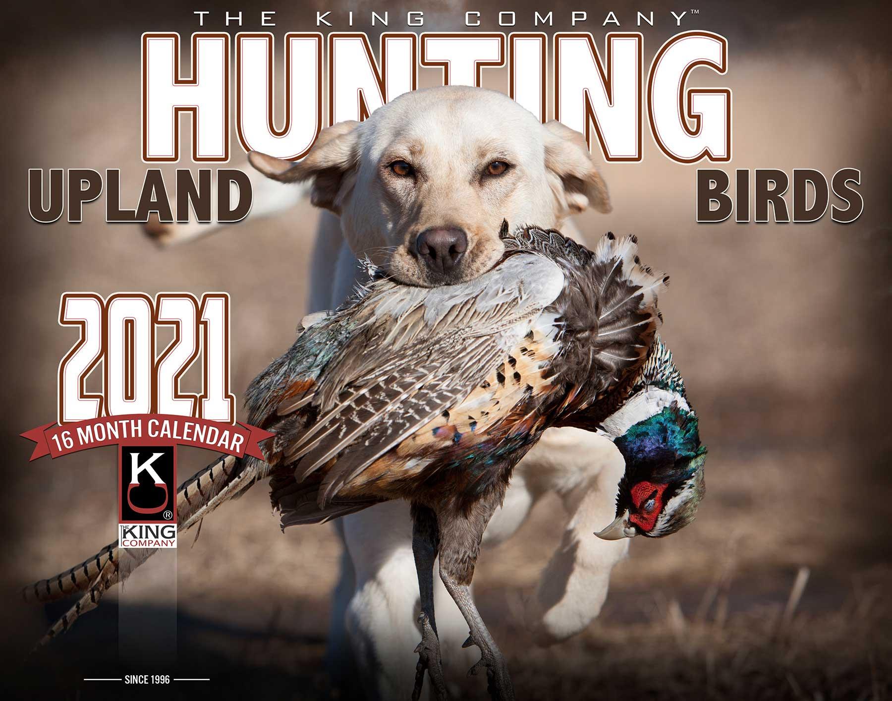 2021 Upland Hunting Calendar in Hunting Calendar 2021