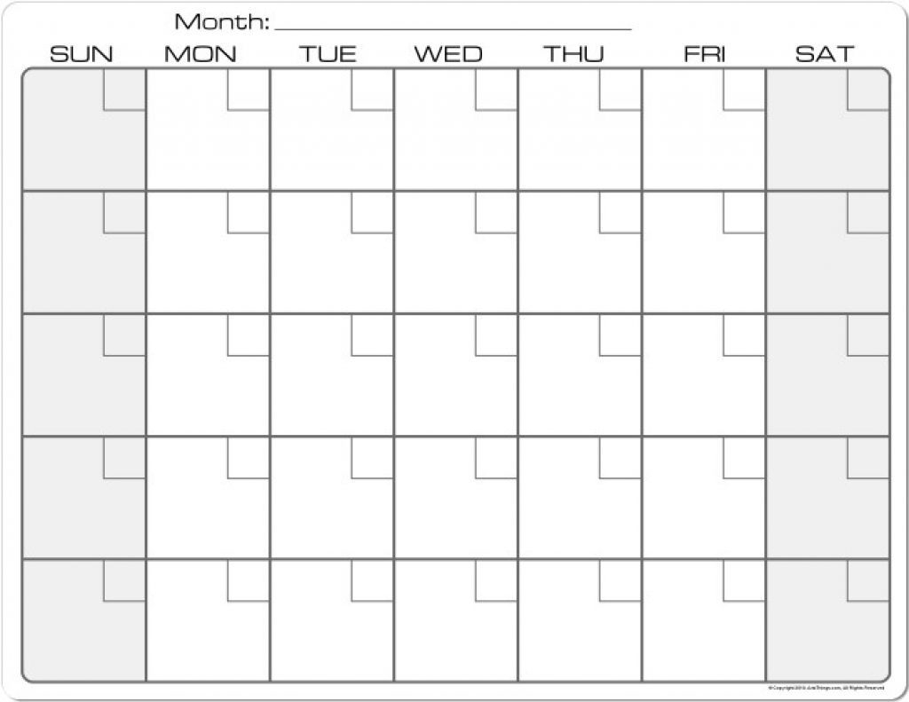 8.5 X 11 Printable Calendars In 2020 | Blank Calendar Pages inside 8.5 X 11 Printable Calendars