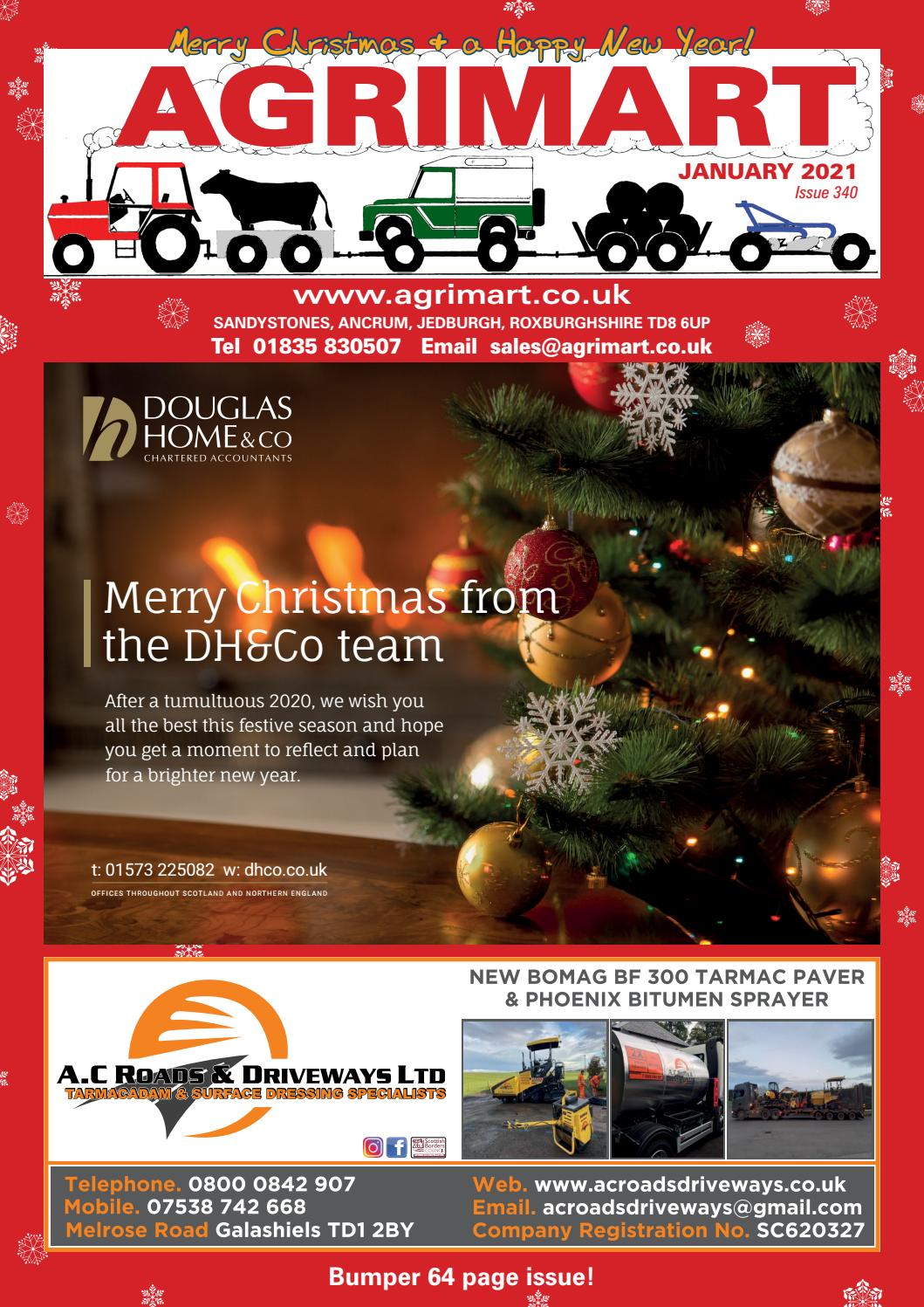 Agrimart January 2021 Issueagrimart - Issuu regarding Armco Operational Calendar 2021