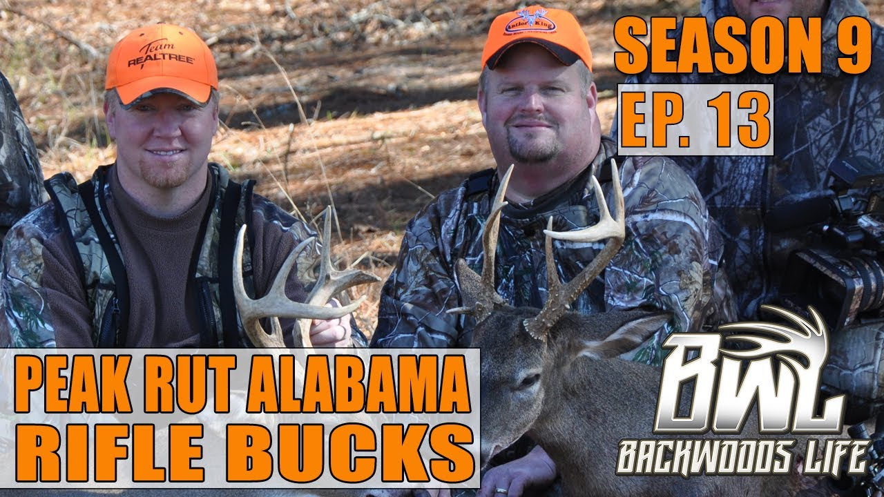 Alabama Peak Rut Deer Hunting Two Bucks Down | Bwl 9.13 pertaining to Alabama Deer Rut