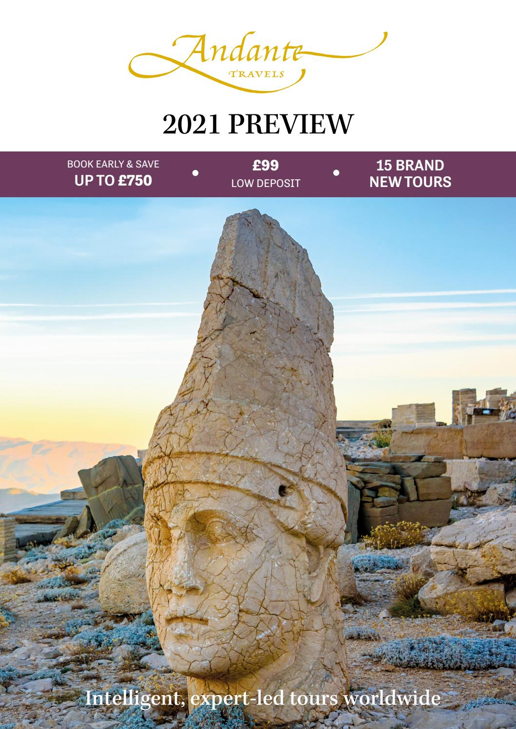 Andante Travels - 2021 Preview - Ukspecialist Journeys pertaining to Prehistoric Pocket Calendar 2021 With