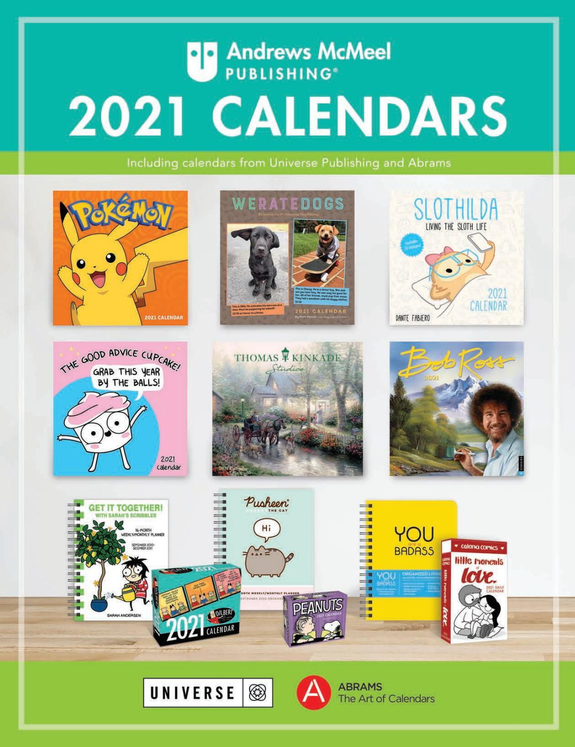 Andrews Mcmeel 2021 Calendar Catalogandrews Mcmeel intended for 2021-2021 Two Year Monthly Planner:
