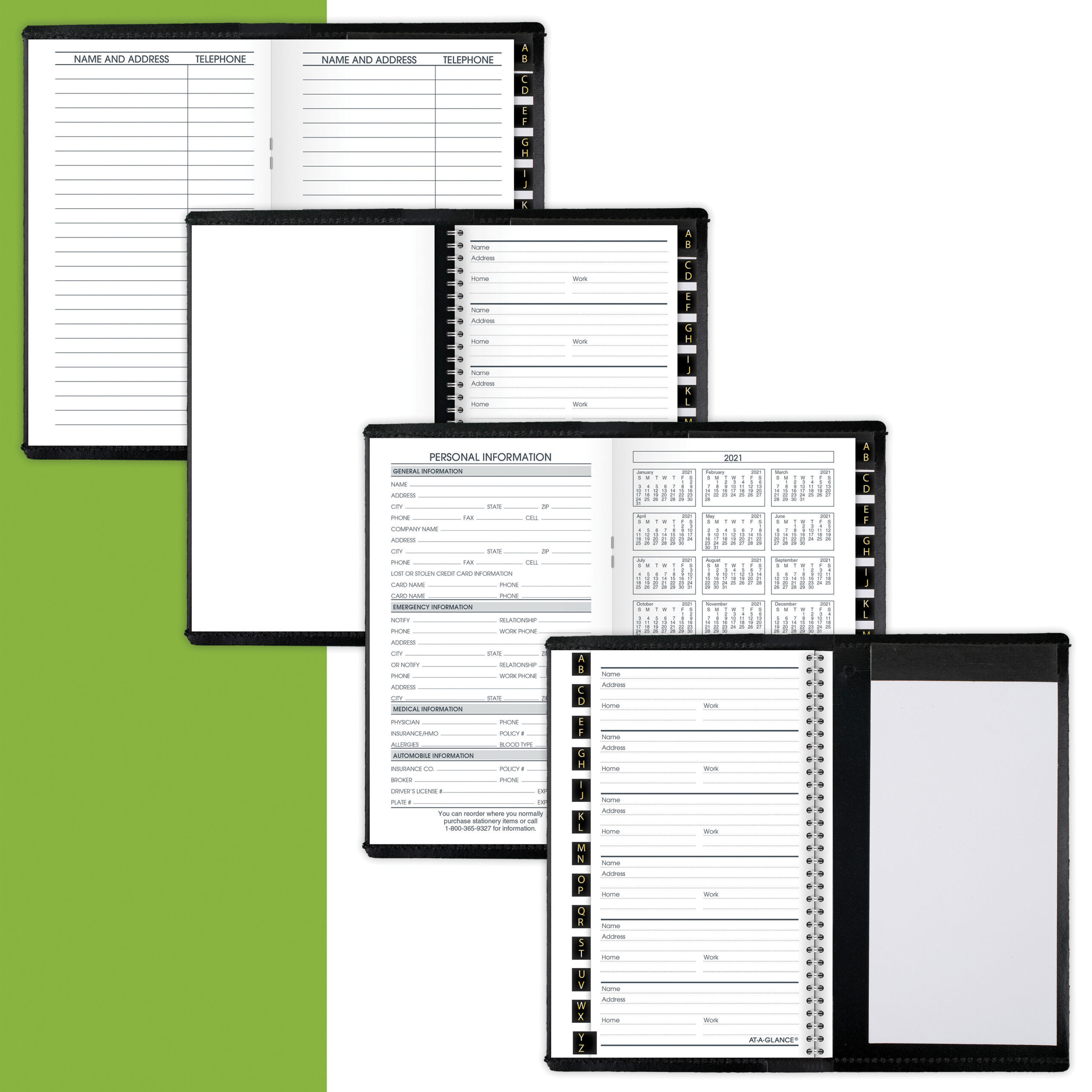 """At-A-Glance Deluxe Monthly Pocket Planner - Monthly - 1.1 Year - January  2021 Till January 2022 - 1 Month Double Page Layout - 3 1/2"""" X 6 1/8"""" Sheet intended for Planner 2021: Year Monthly Pocket"""