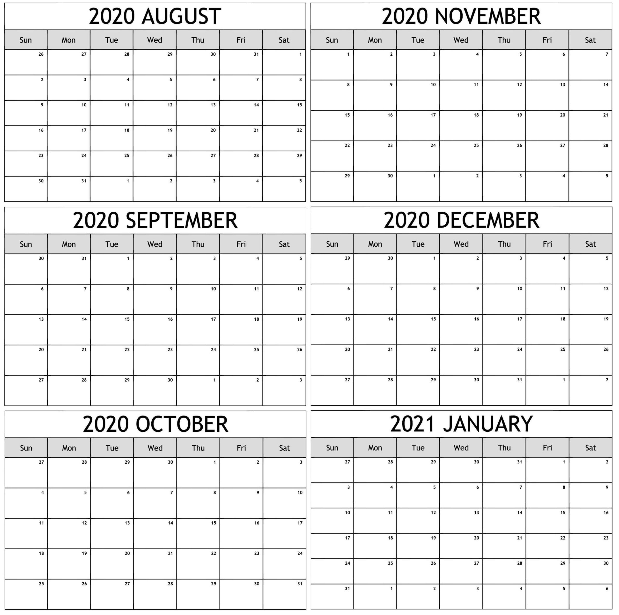 August 2020 To January 2021 Calendar Jpg - 2019 Calendars with Shift Schedule Jan 2021
