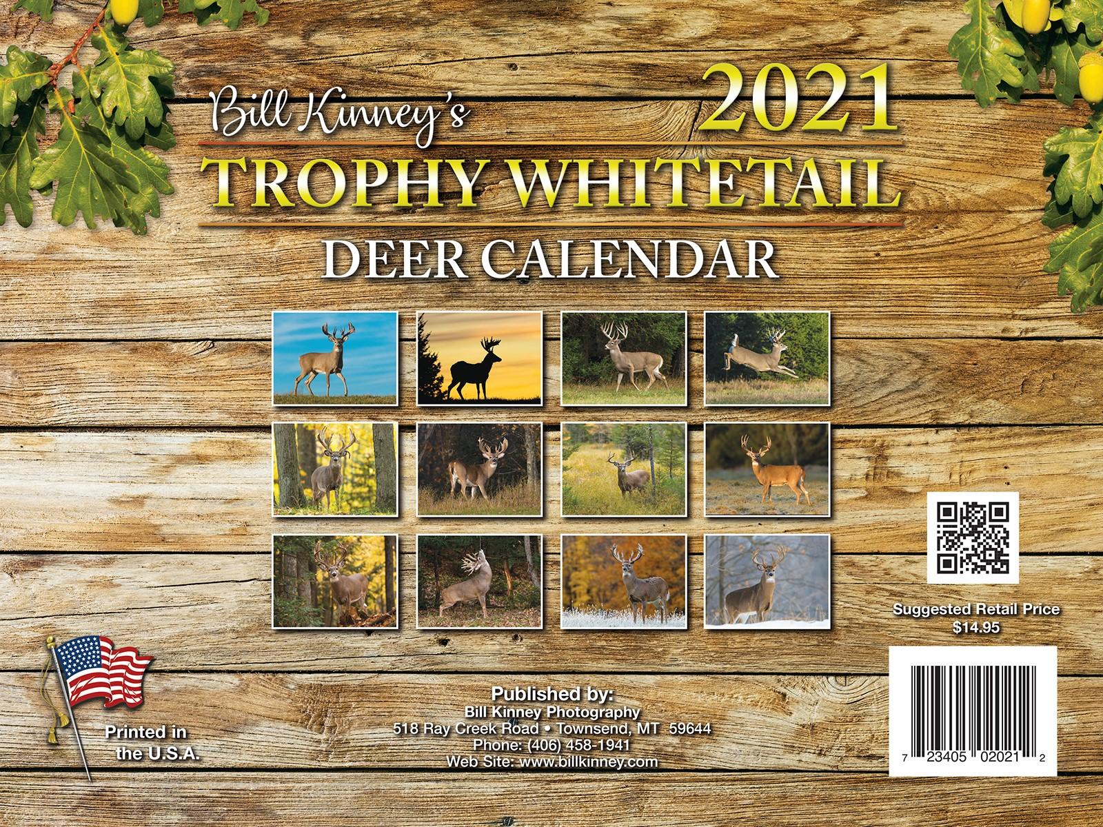 Billkinney with 2021 Deer Rut Calendar