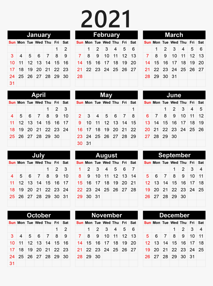 Calendar 2021 Png - Pocket Calendar 2020 Printable for 2021 Pocket Calendar Template