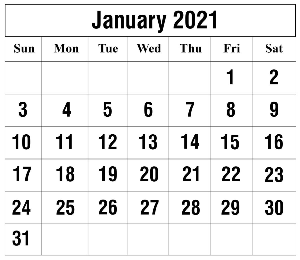 Calendar For January 2021 Project In 2020   Monthly Calendar with regard to Printable Blank Fill In Monthly Calendar 2021