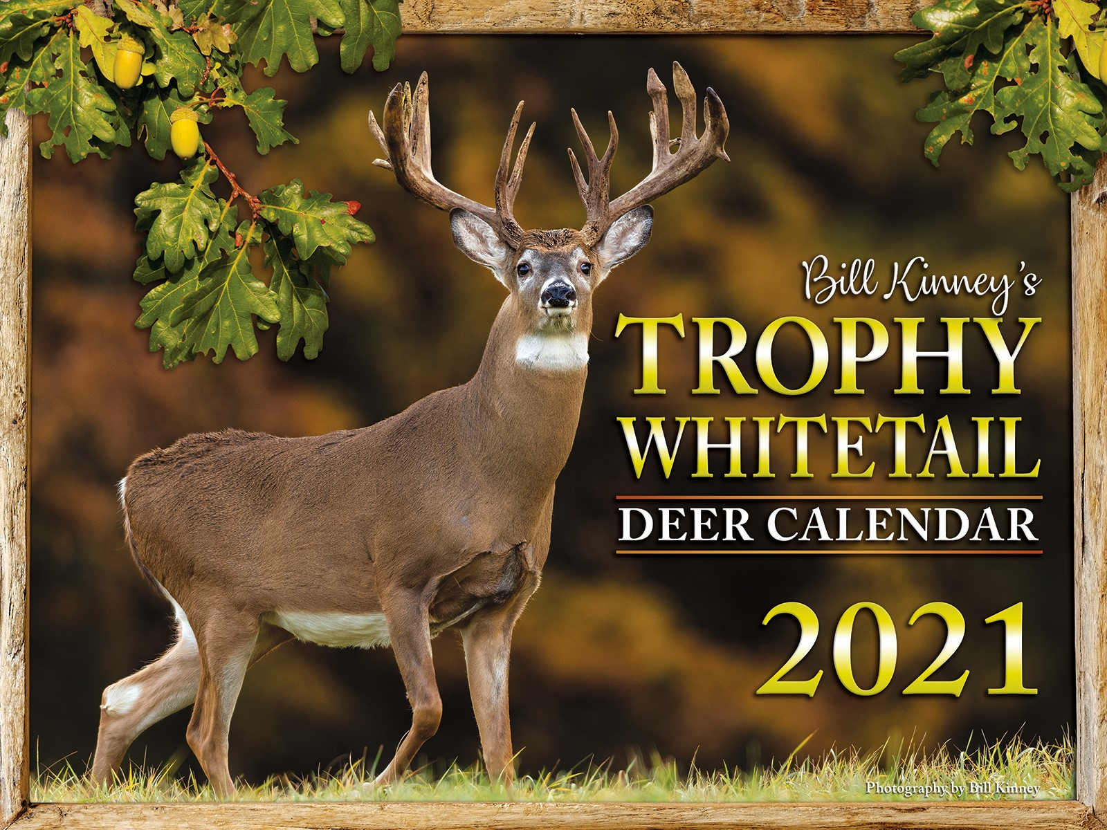 Calendar Page - Billkinney % for 2021 Whitetail Rut Calendar