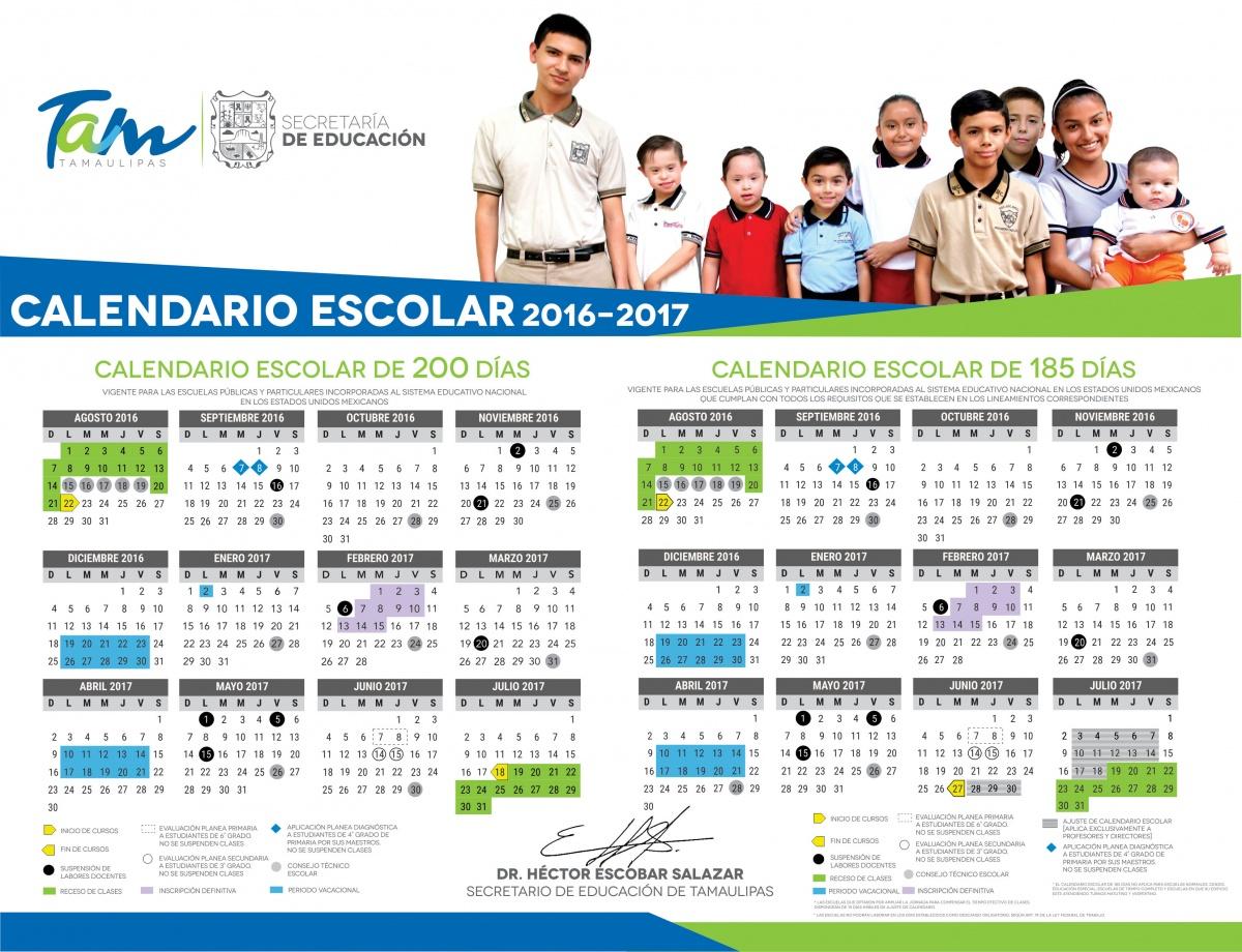 Calendario Escolar 2016-2017 – Matemáticas Cbtis 103 throughout Calendario Escolar WordPress