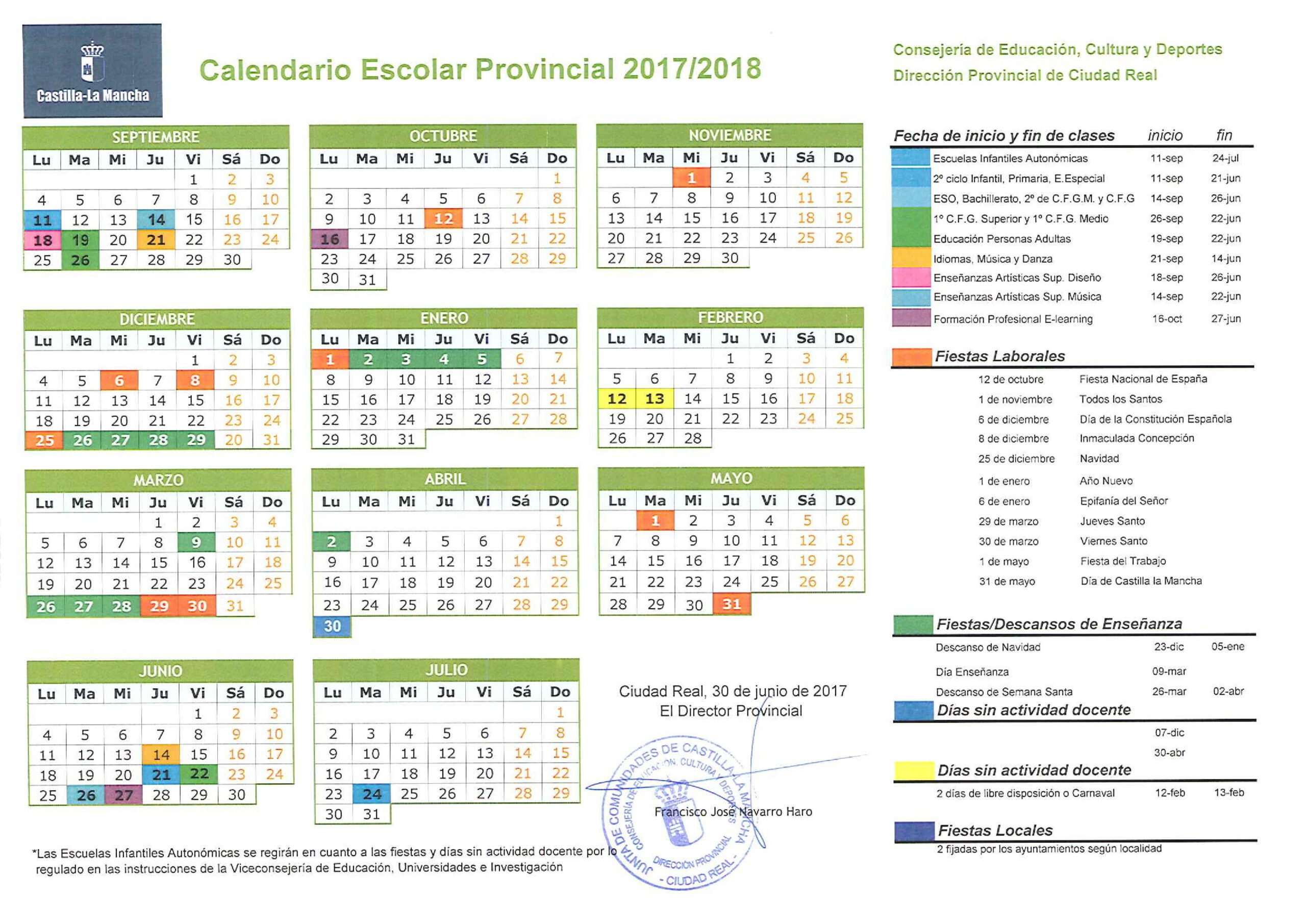 Calendario Escolar throughout Calendario Escolar Wordpress