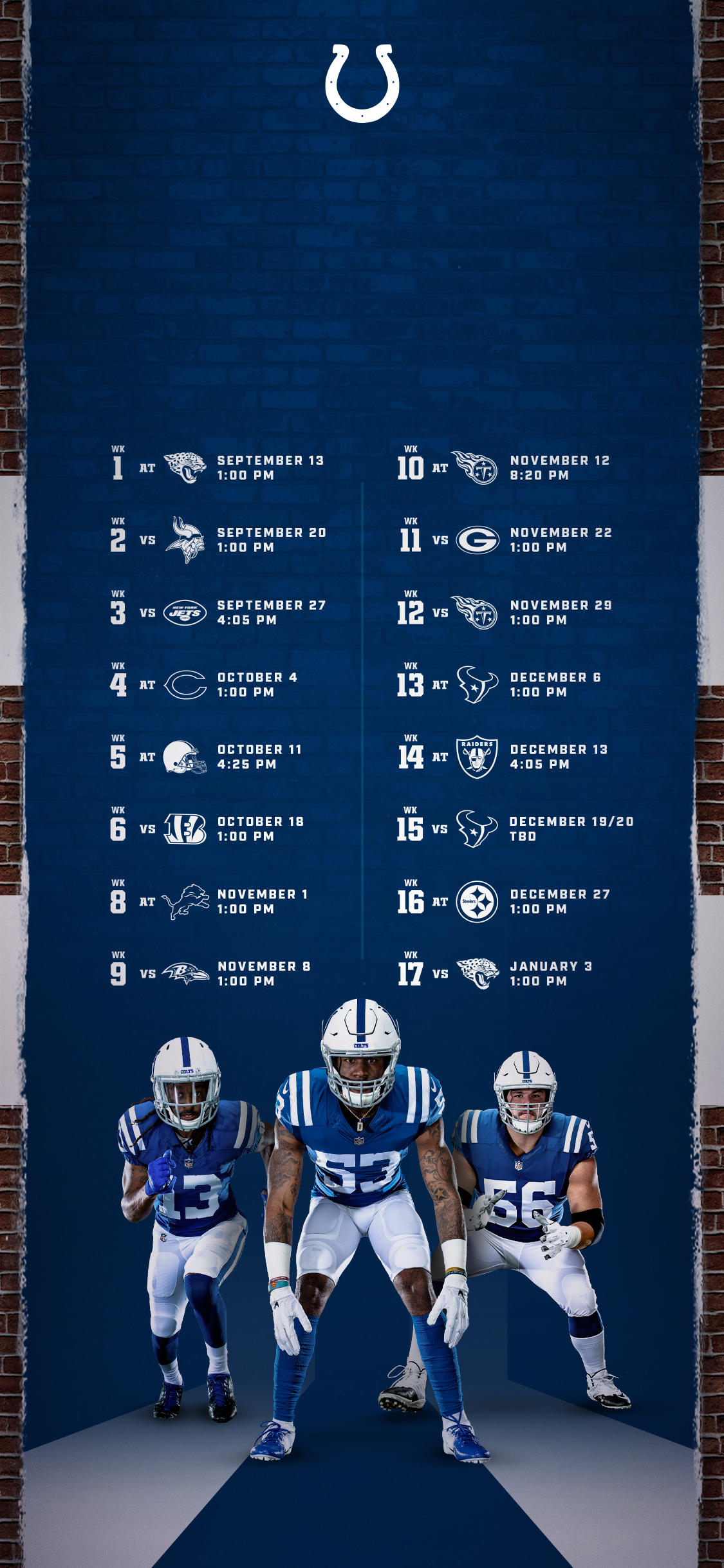Colts Schedule | Indianapolis Colts - Colts with regard to Printable Nfl Schedule 2021 Season