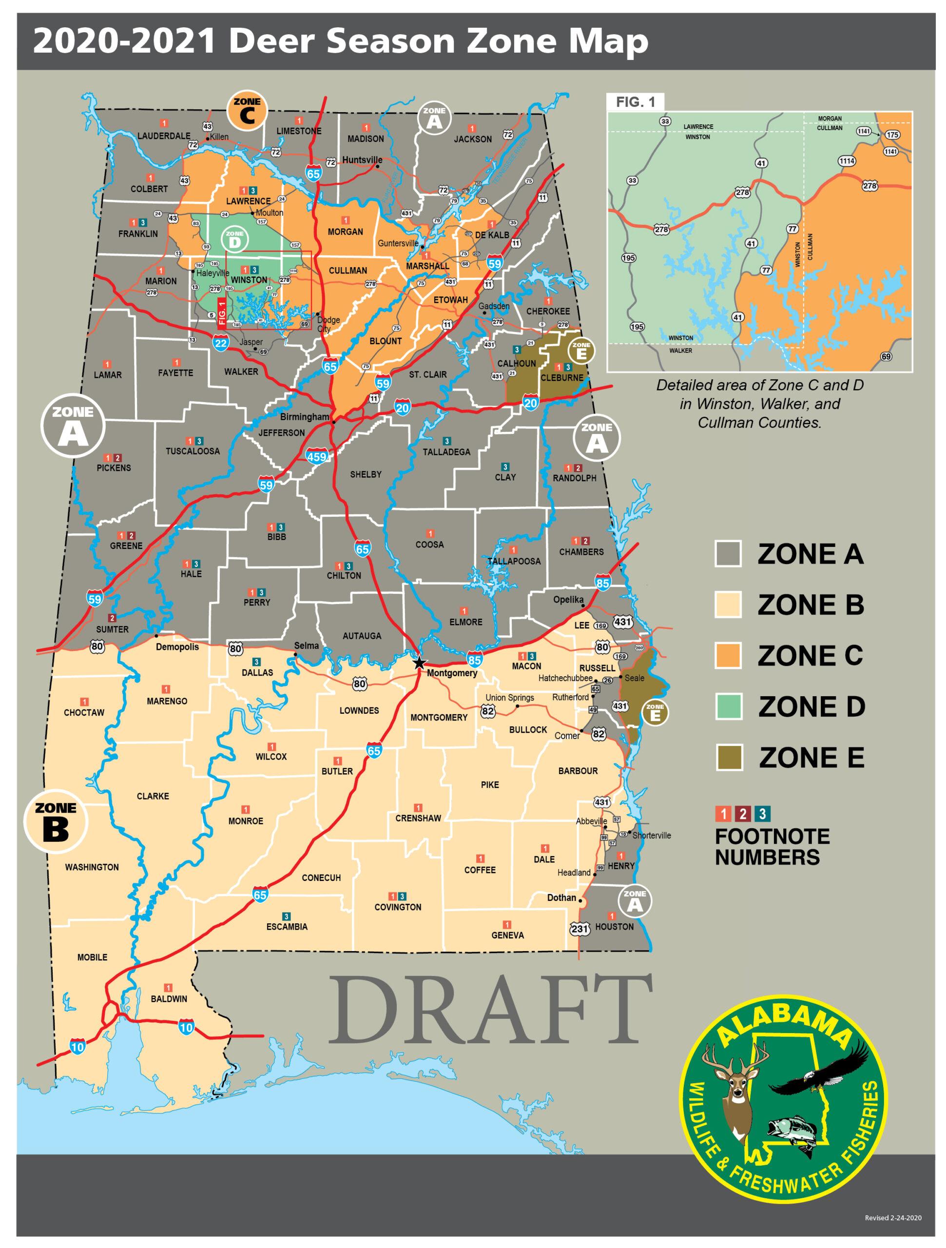 Conservation Advisory Board Considers Deer Zones, Turkey pertaining to Georgia Rut Map 2021