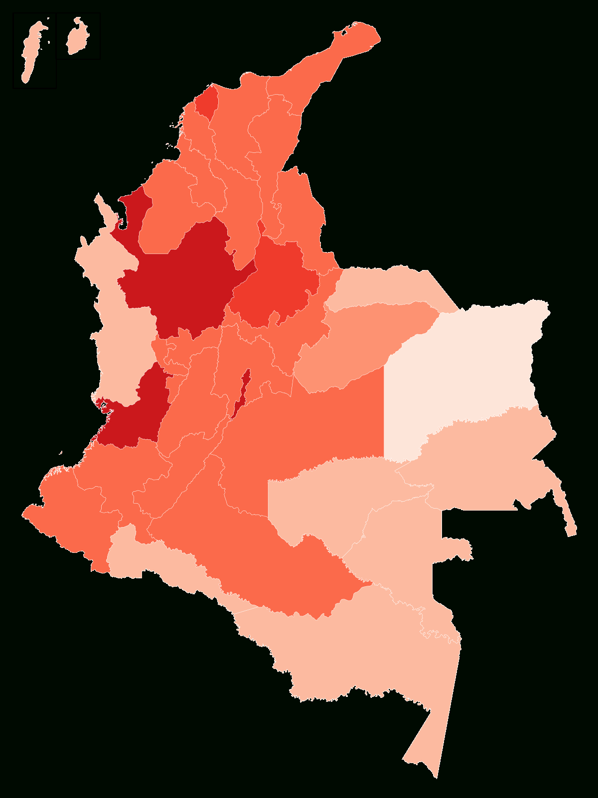 Covid-19 Pandemic In Colombia - Wikipedia for Printable 2021 Mcgeer Criteria Chart