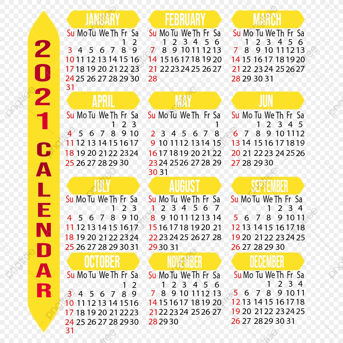 Customizable 2021 Calendar, Year, Month, Week Png regarding 2021 Fill-In Calendar