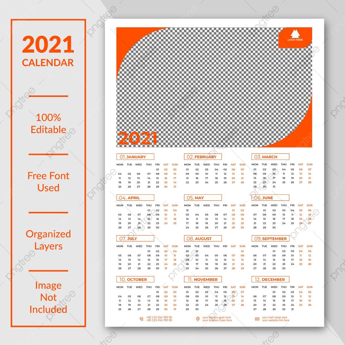 التقويم في صفحة واحدة Png الصور | ناقل و Psd الملفات | تحميل regarding Calendar 2021 Aramco
