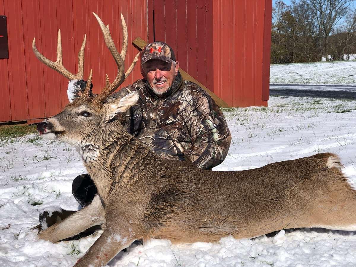 December Muzzleloader Deer Hunt throughout Kentucky Deer Season 2021