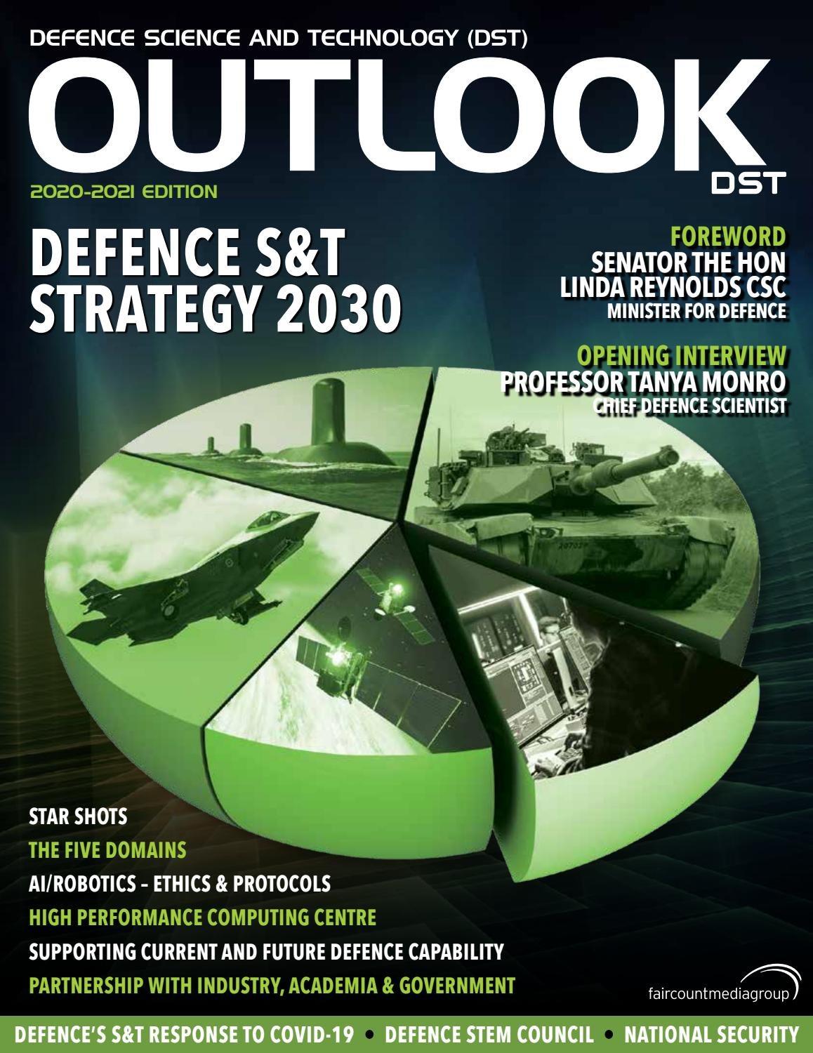 Defence Science And Technology (Dst) Outlook 2020-2021 in 2021 Wisconsin Rut Predictions