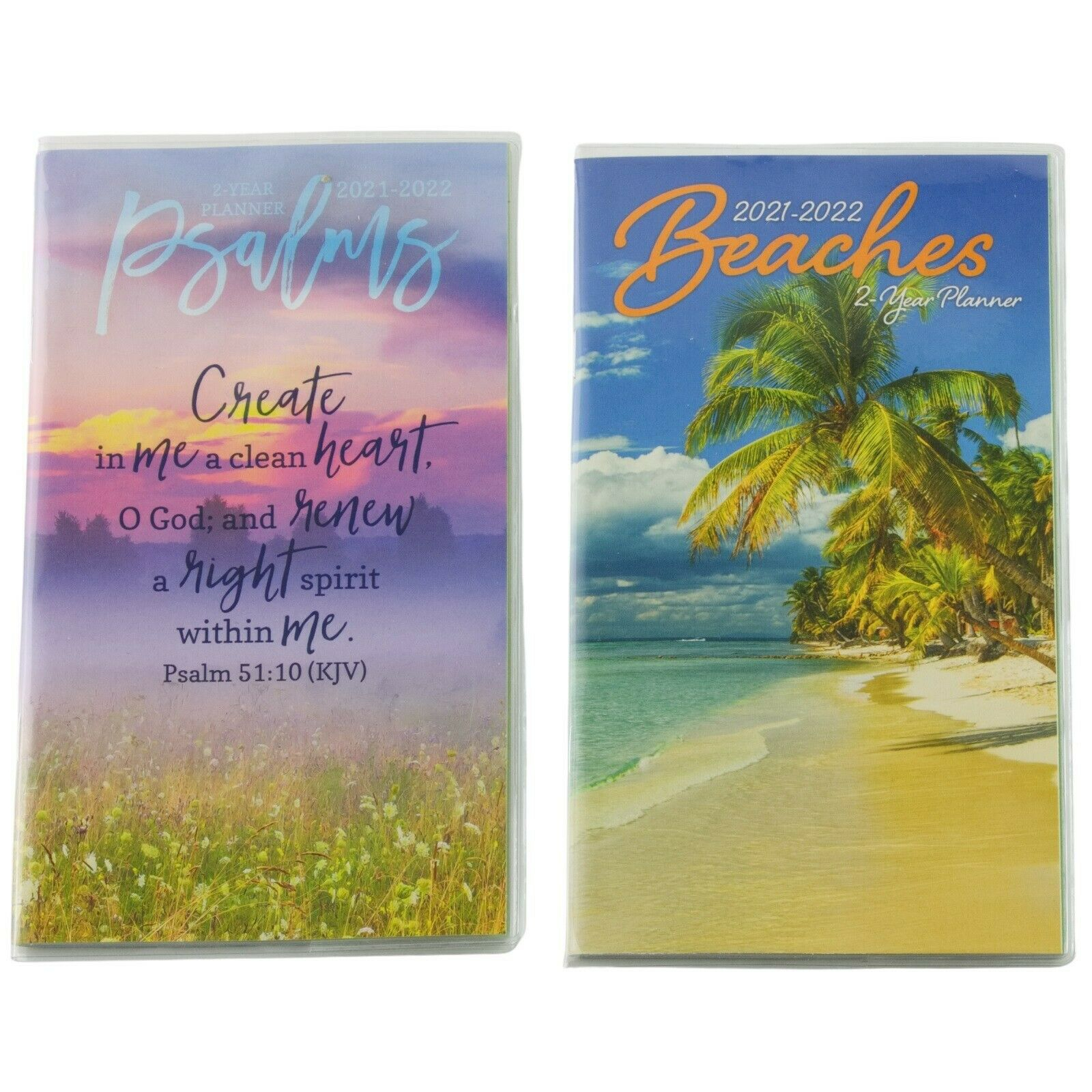 Details About Psalms Or Beaches 2021 2022 Two Year Monthly Pocket Mini  Planner within Planner 2021: Year Monthly Pocket