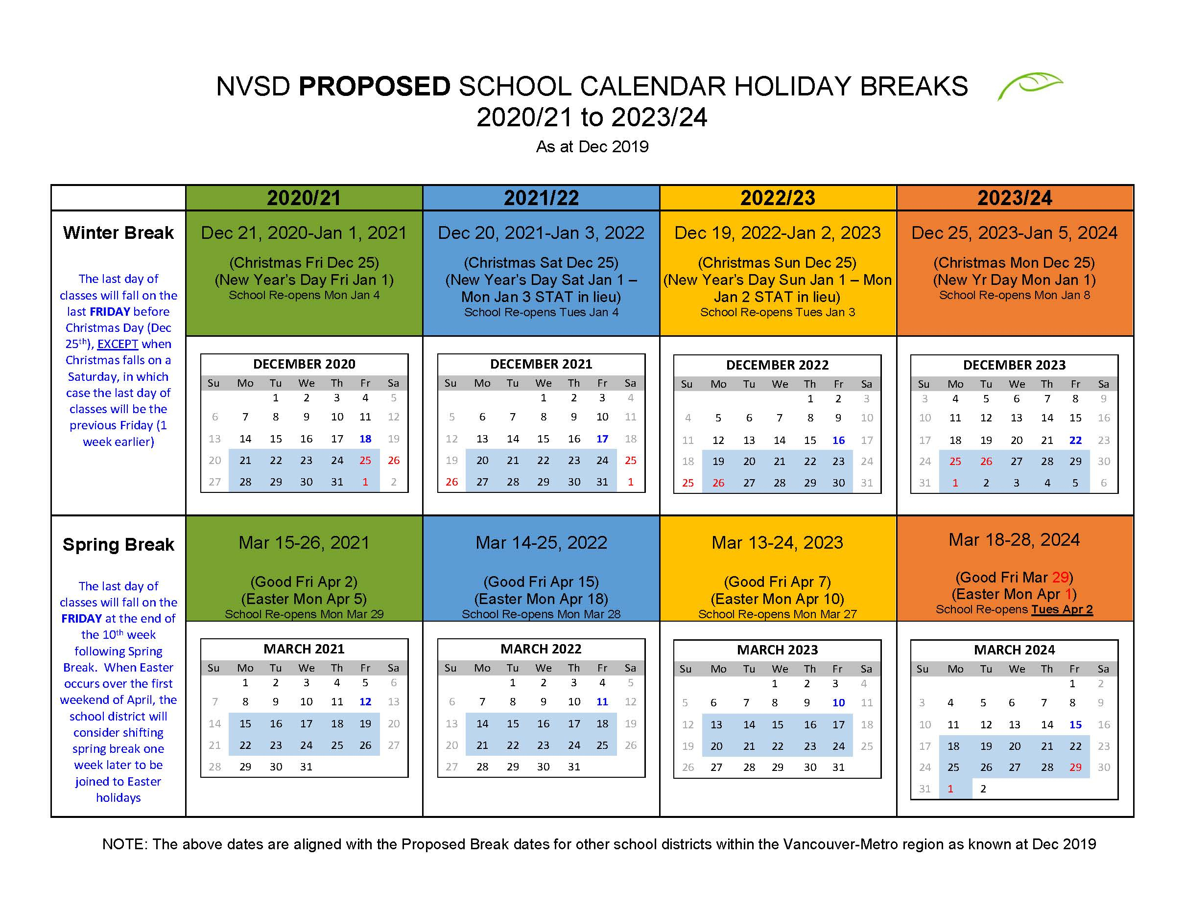 District Calendar - North Vancouver School District pertaining to Sunday To Saturday Year Calendar 2021/21