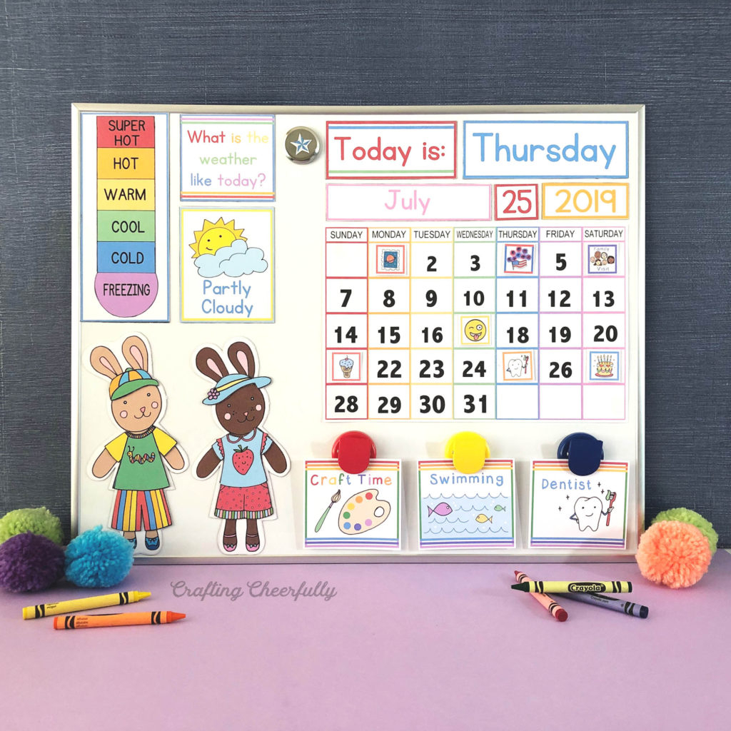 Diy Children'S Calendar. How To Create A Handmade Calendar regarding Free Printable Small Pocket Calendars