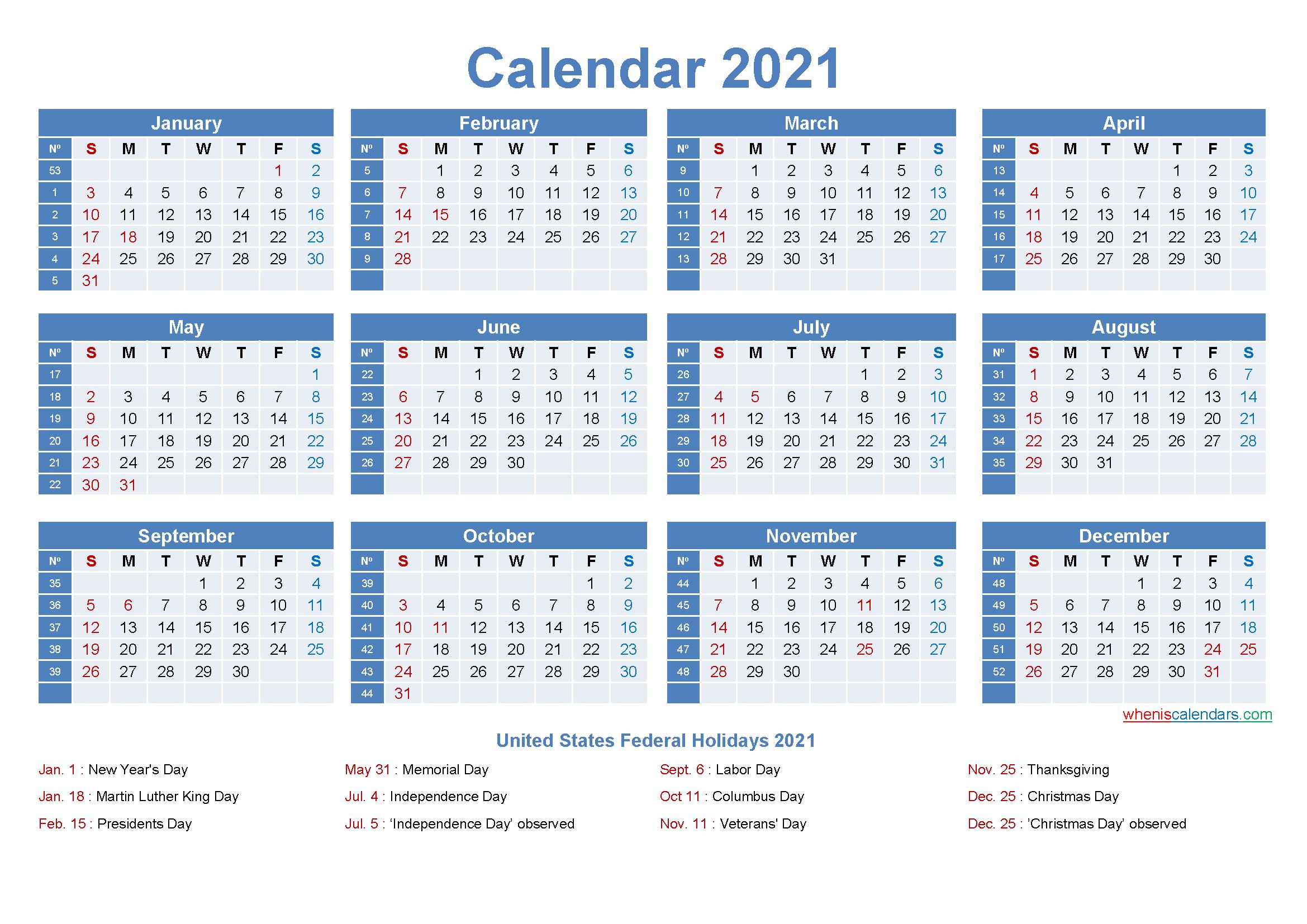 Editable Printable Calendar 2021 Word - Template No.ep21Y8 intended for 2021 Fillable Calendar Free Printable