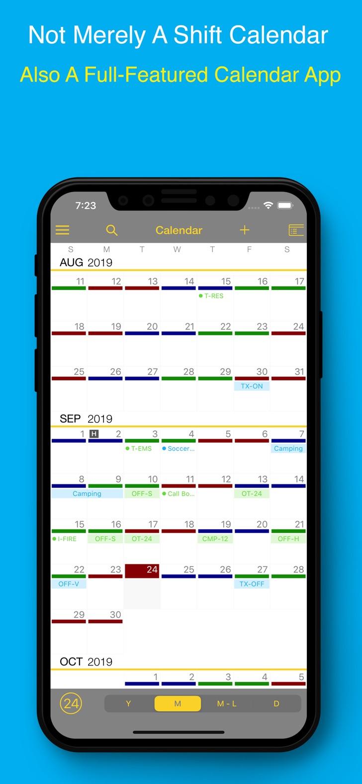 Firesync Shift Calendar 4.0.1 - Free Productivity App For intended for Firehouse Shift Calendar
