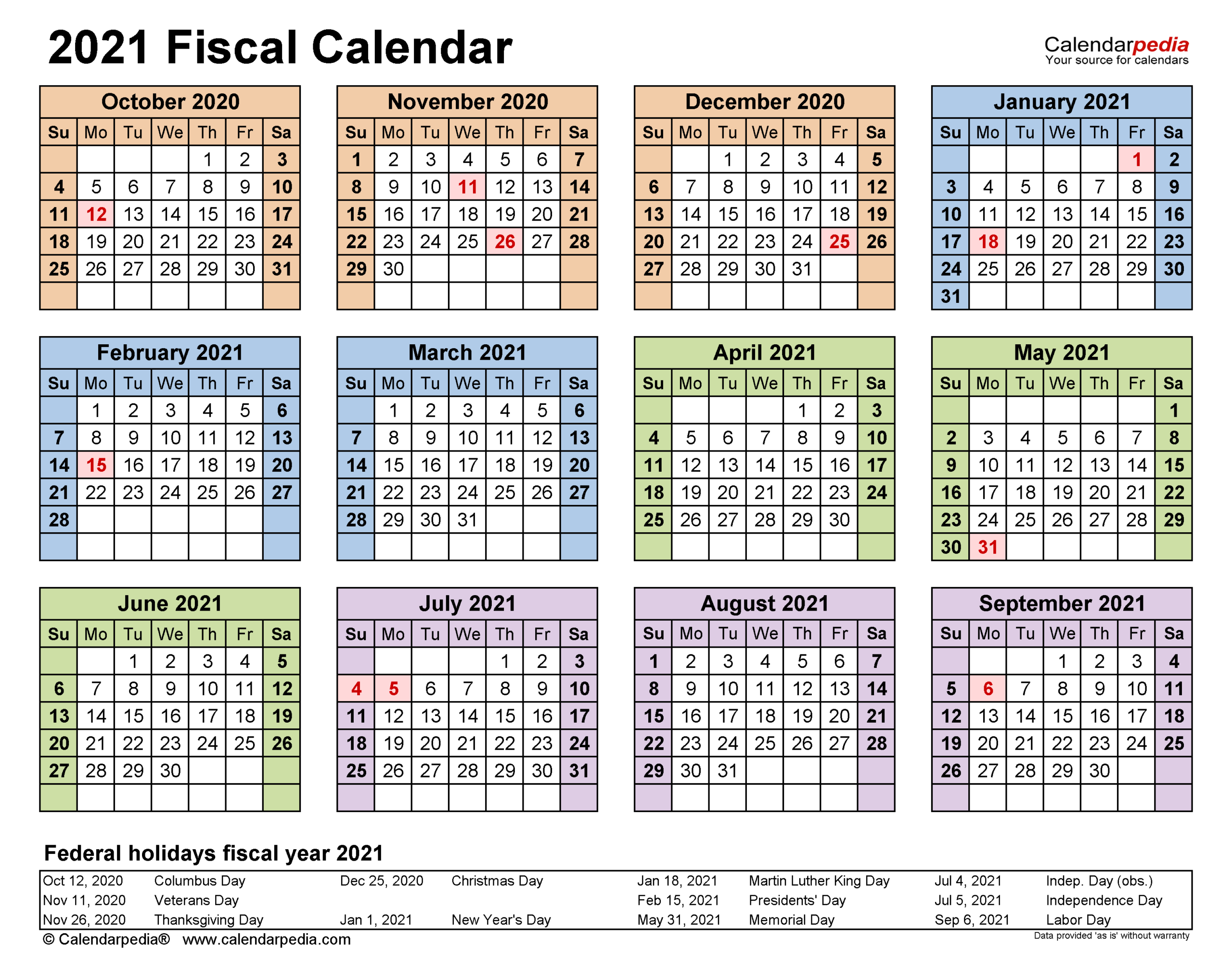 Fiscal Calendars 2021 - Free Printable Excel Templates intended for Calendario 4-4-5 2021
