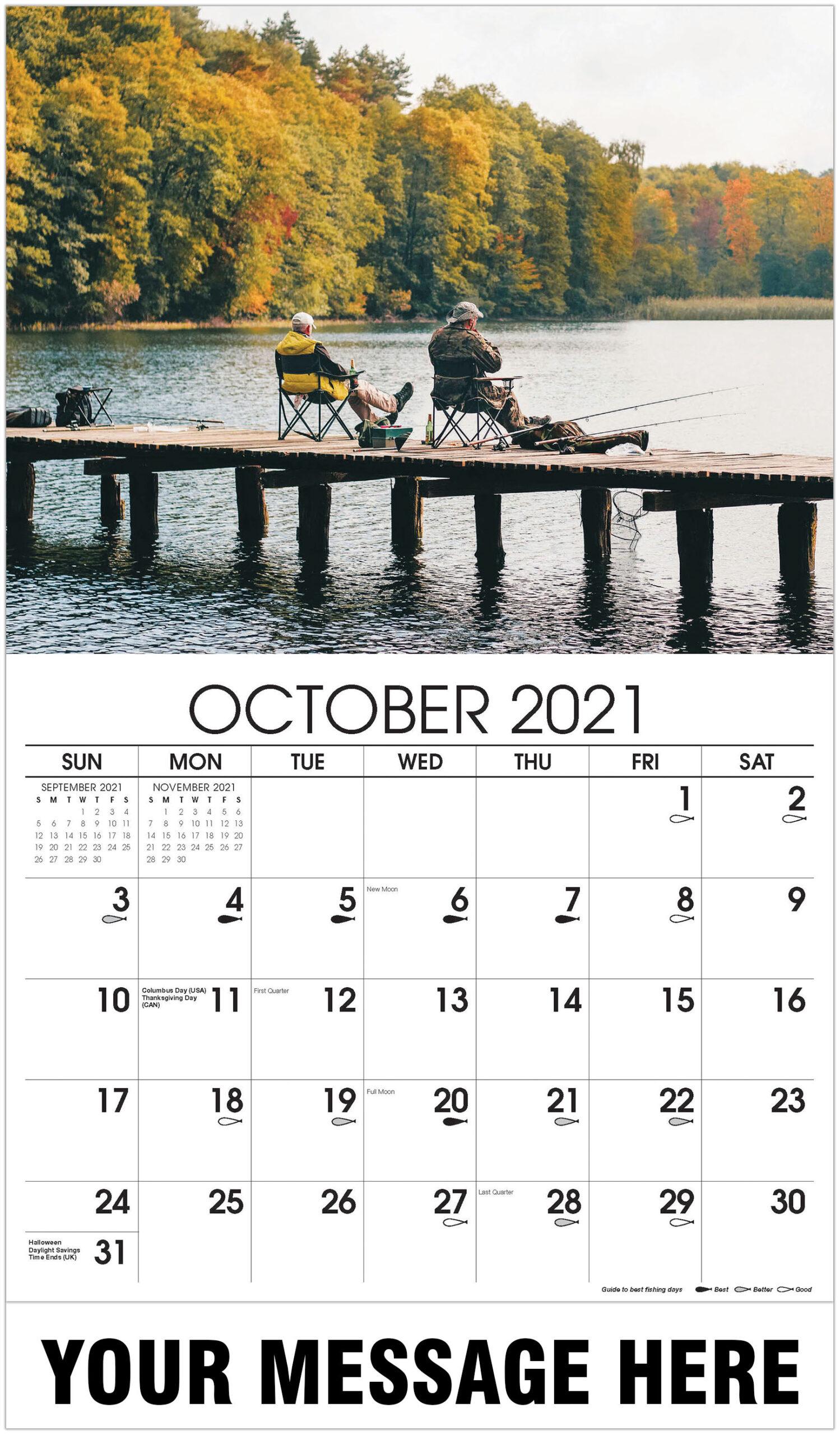 Fishing & Hunting in Hunting Calendar 2021