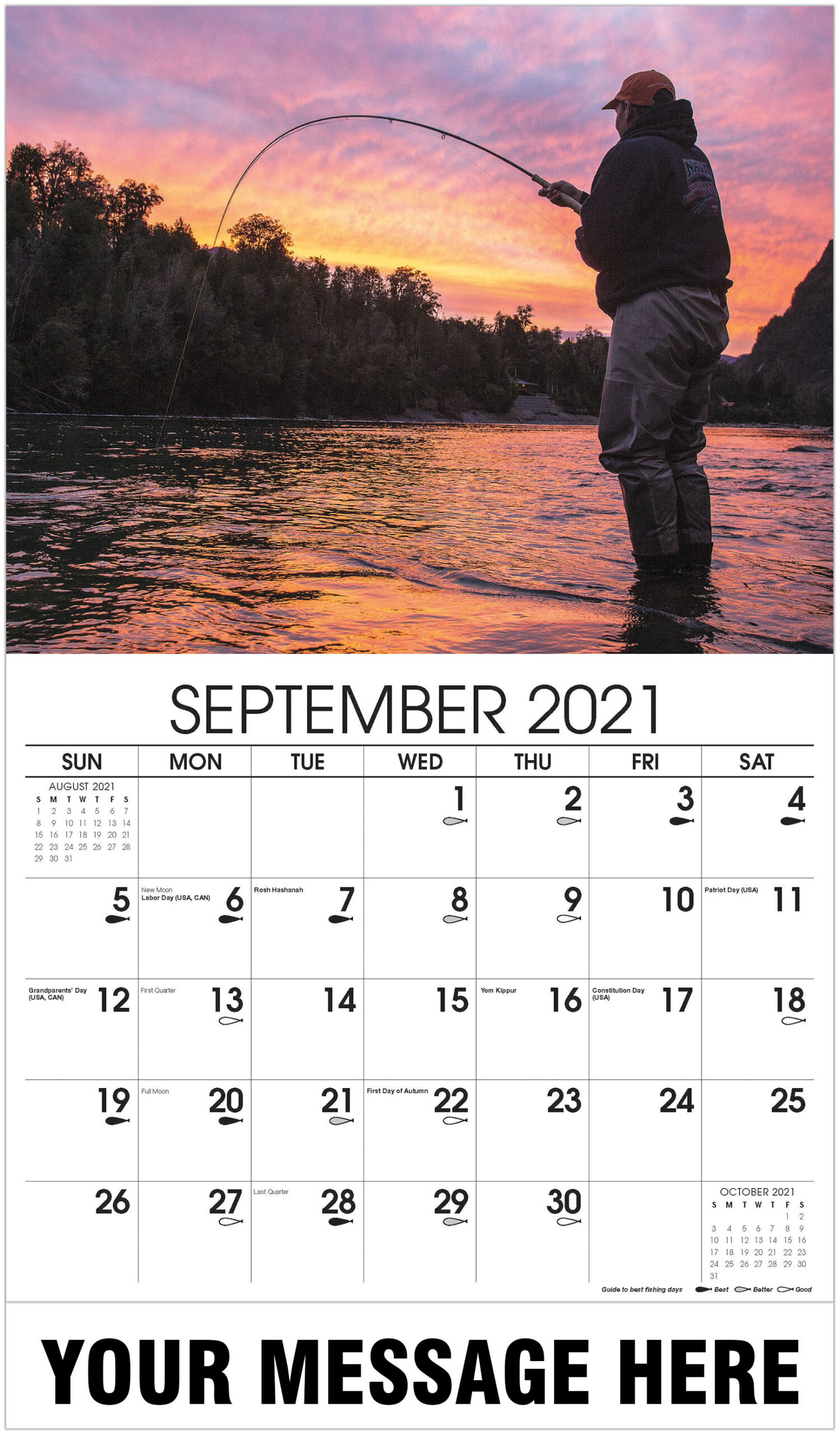 Fishing & Hunting inside Hunting Calendar 2021